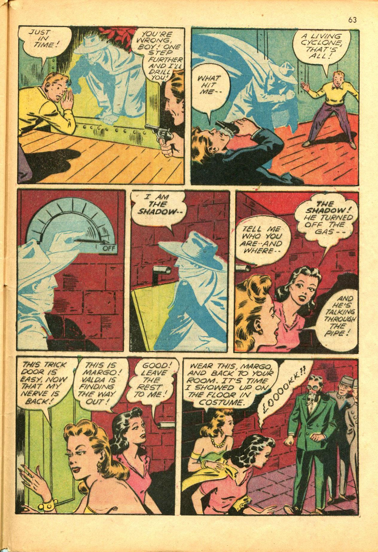 Read online Shadow Comics comic -  Issue #30 - 63