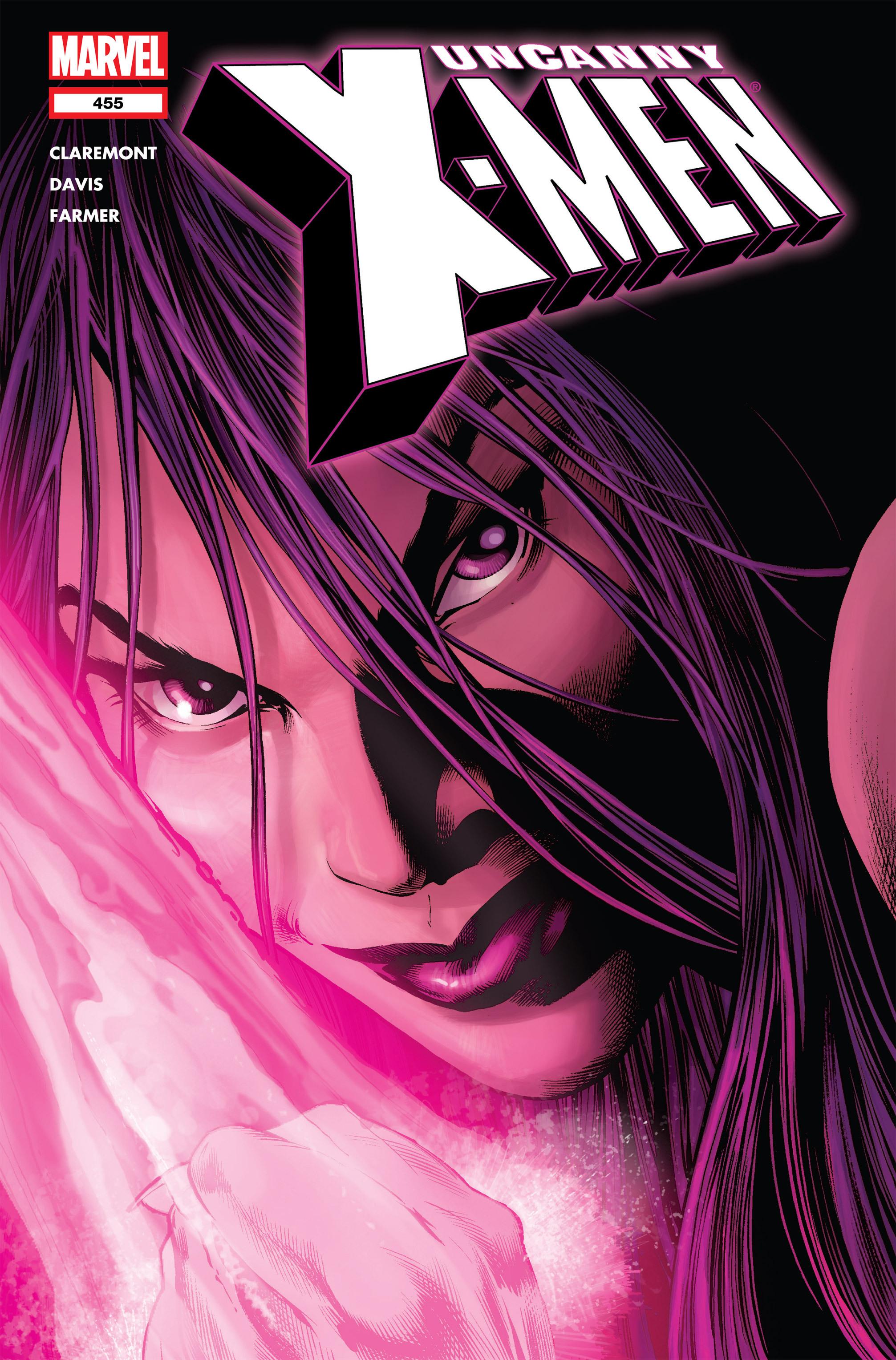 Read online Uncanny X-Men (1963) comic -  Issue #455 - 1
