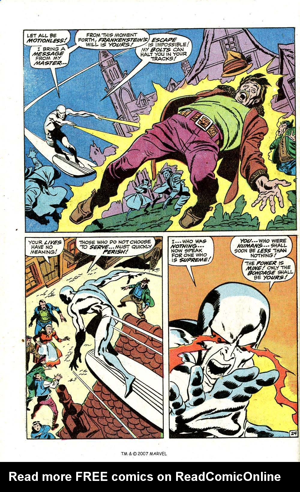 Read online Silver Surfer (1968) comic -  Issue #7 - 30