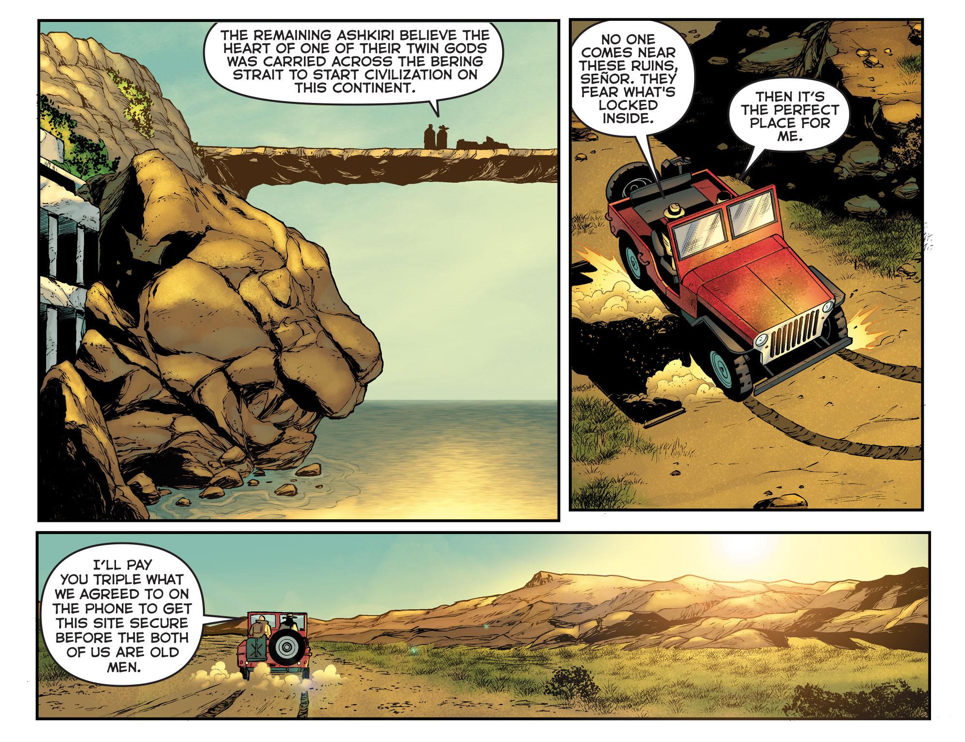 Read online Arrow: The Dark Archer comic -  Issue #11 - 16