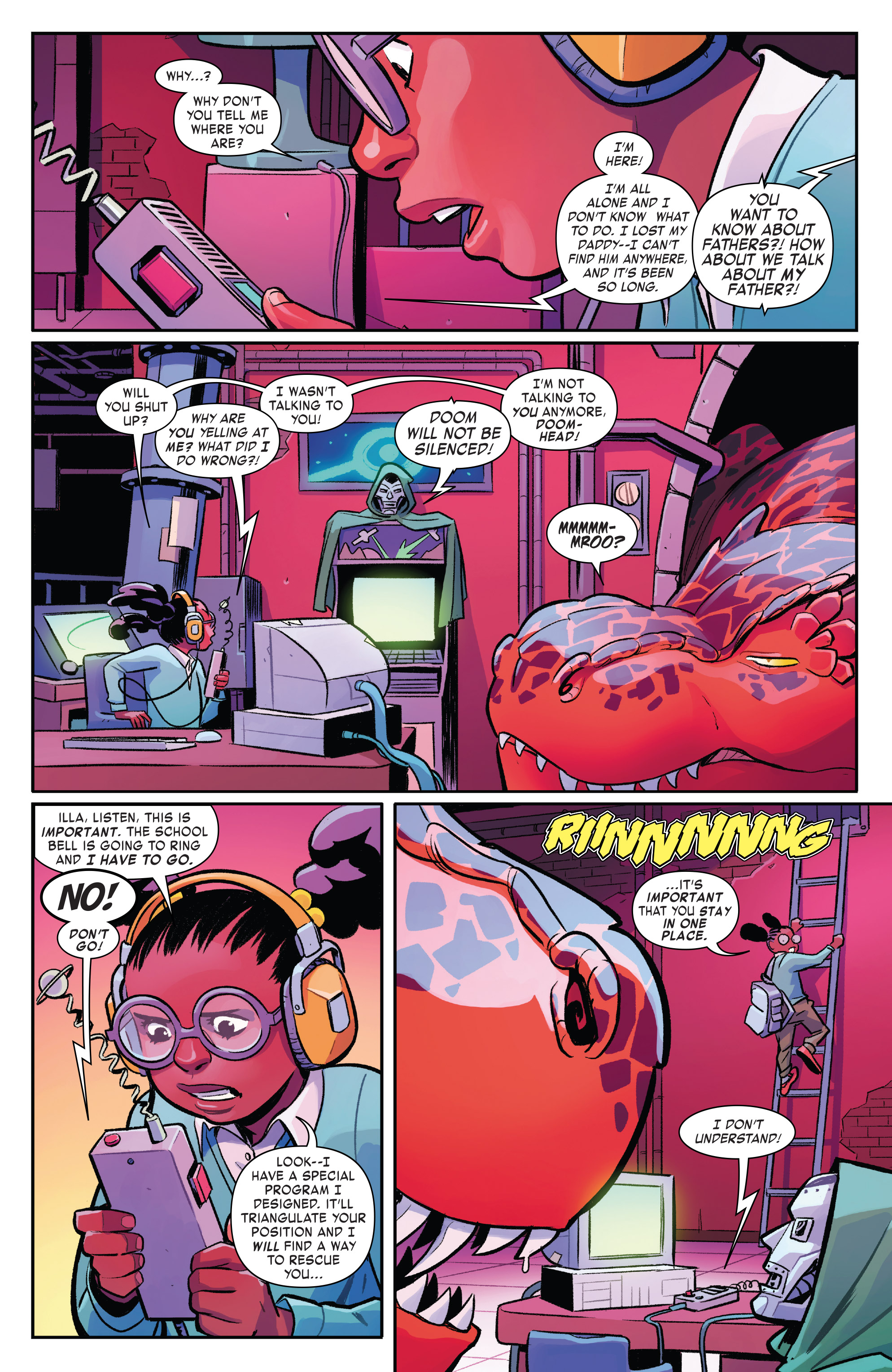 Read online Moon Girl And Devil Dinosaur comic -  Issue #19 - 9