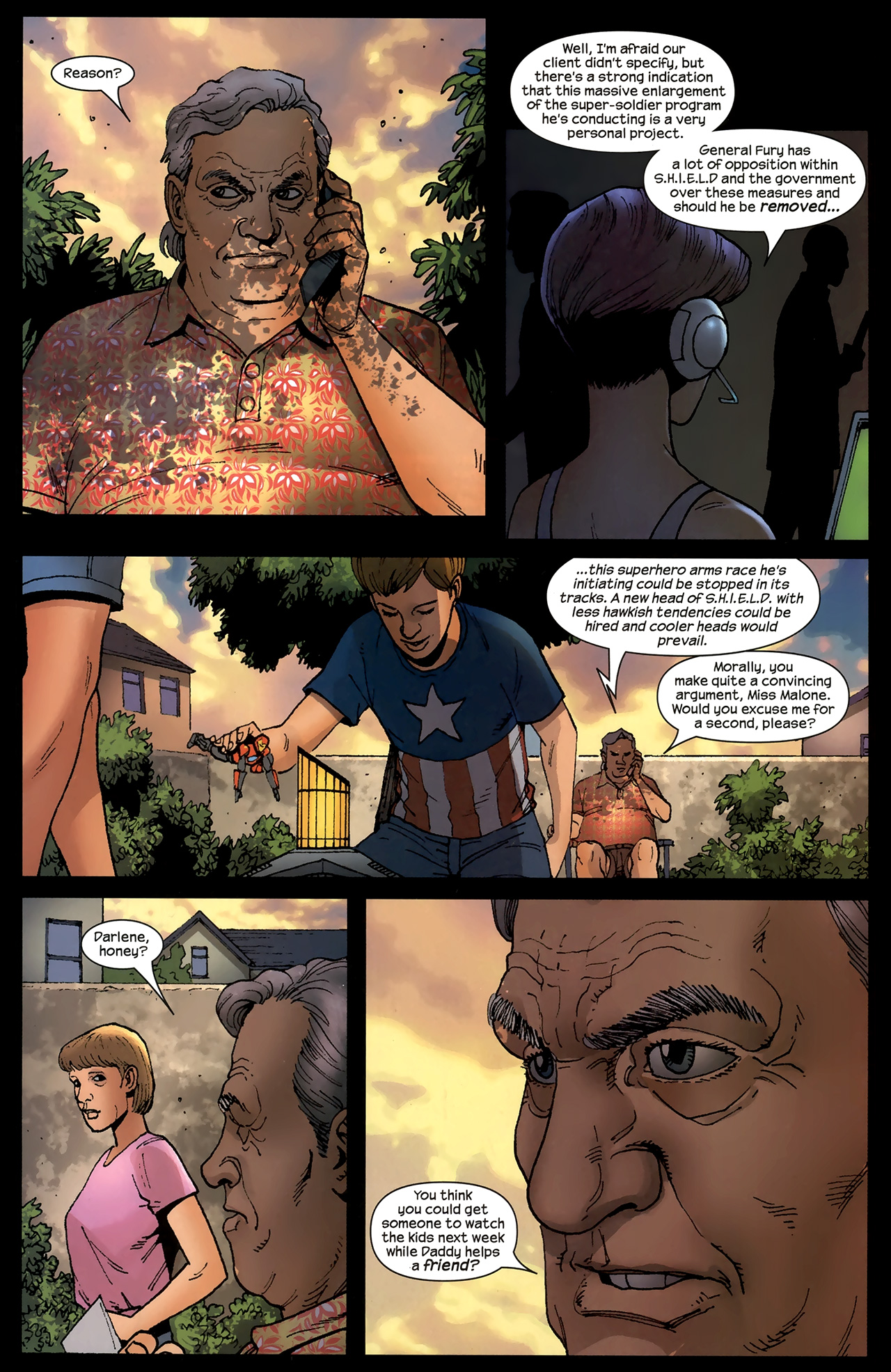 Read online Ultimates 2 comic -  Issue # _Annual 1 - 14