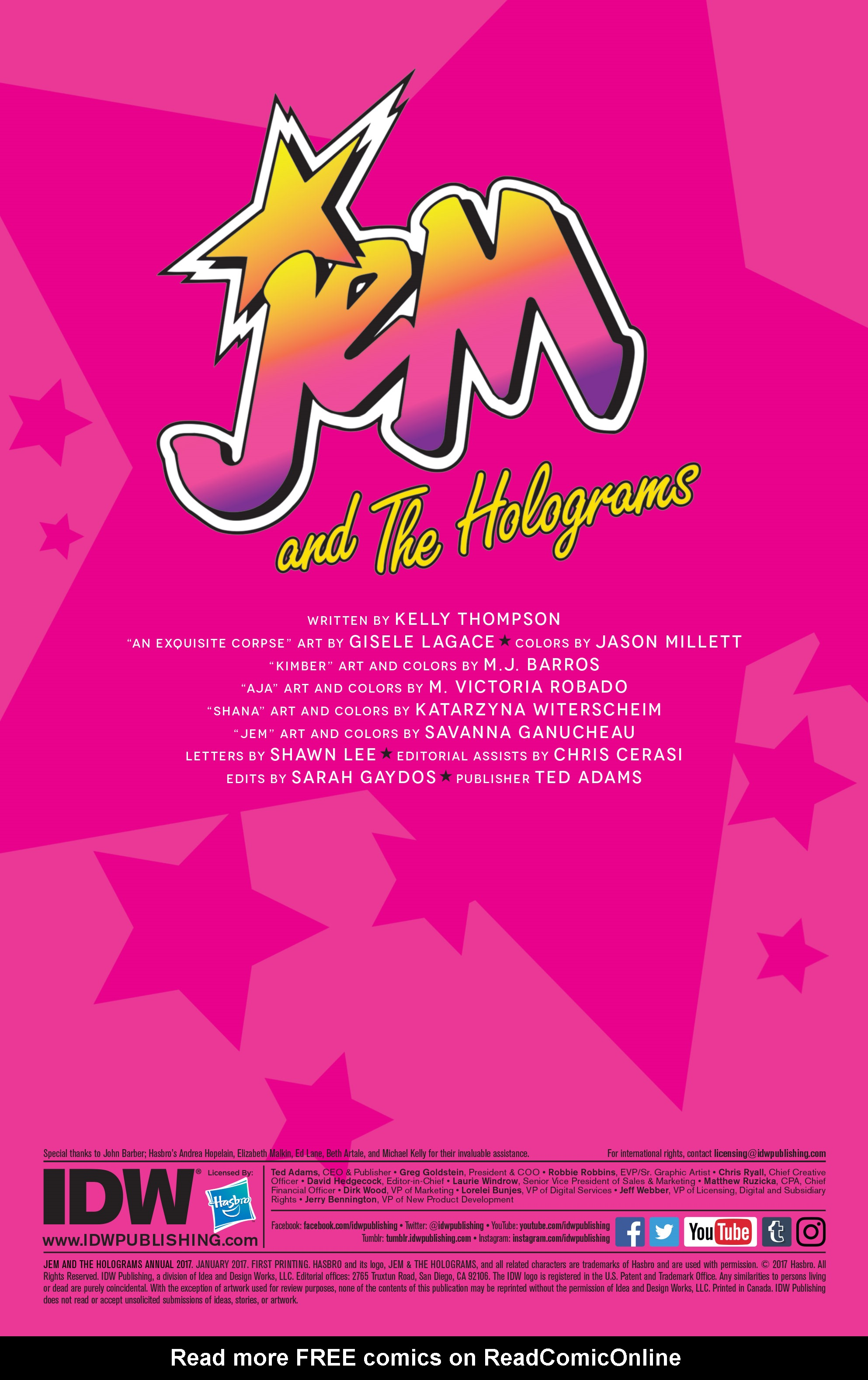 Read online Jem and The Holograms comic -  Issue #26 - 35