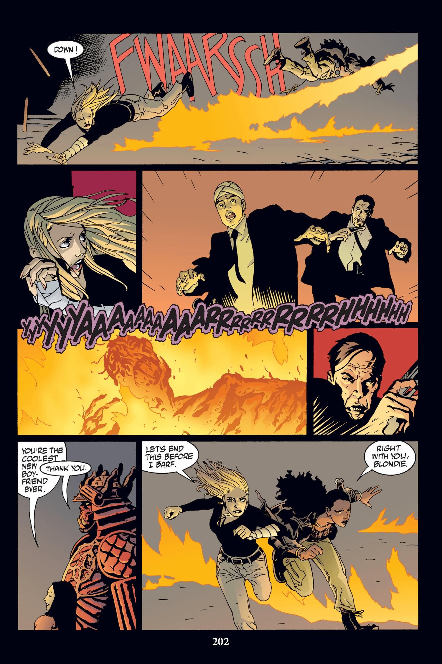 Read online Buffy the Vampire Slayer: Omnibus comic -  Issue # TPB 2 - 196