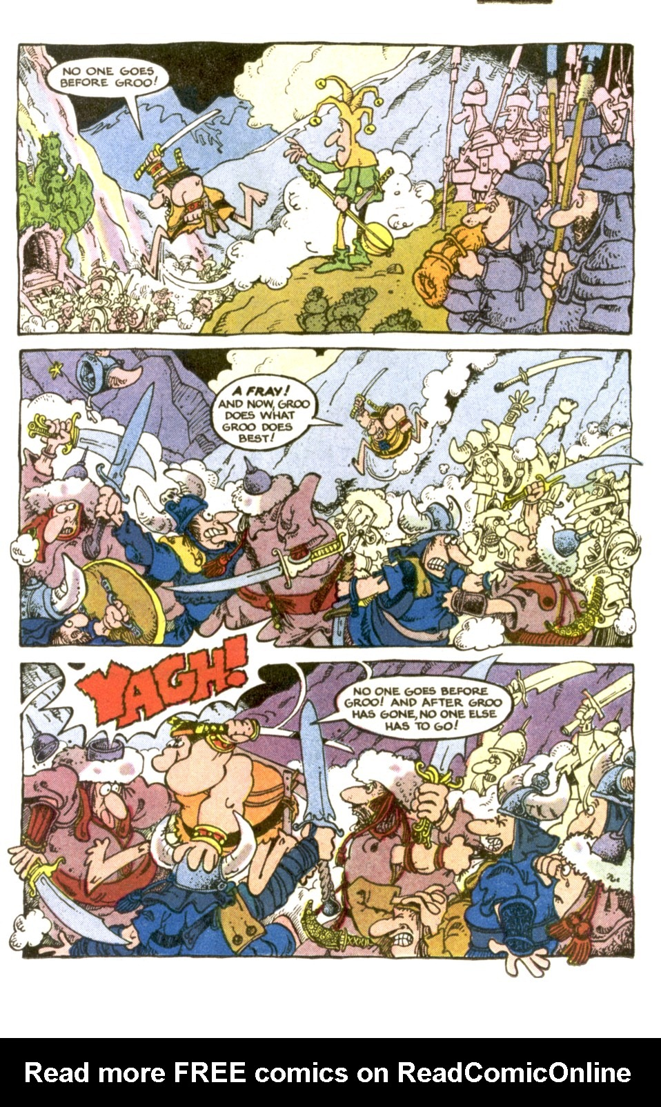 Read online Sergio Aragonés Groo the Wanderer comic -  Issue #2 - 9