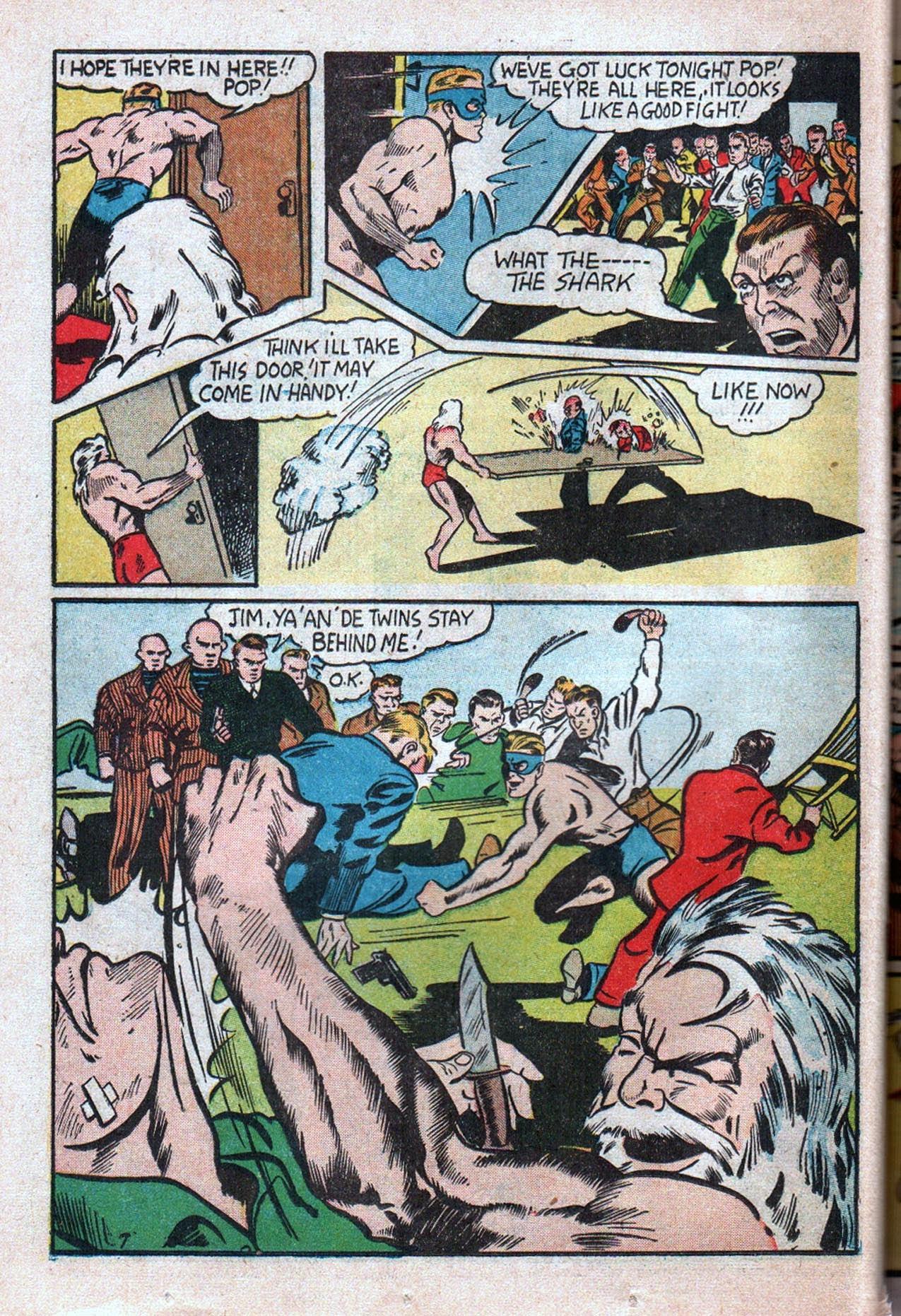 Read online Amazing Man Comics comic -  Issue #20 - 49