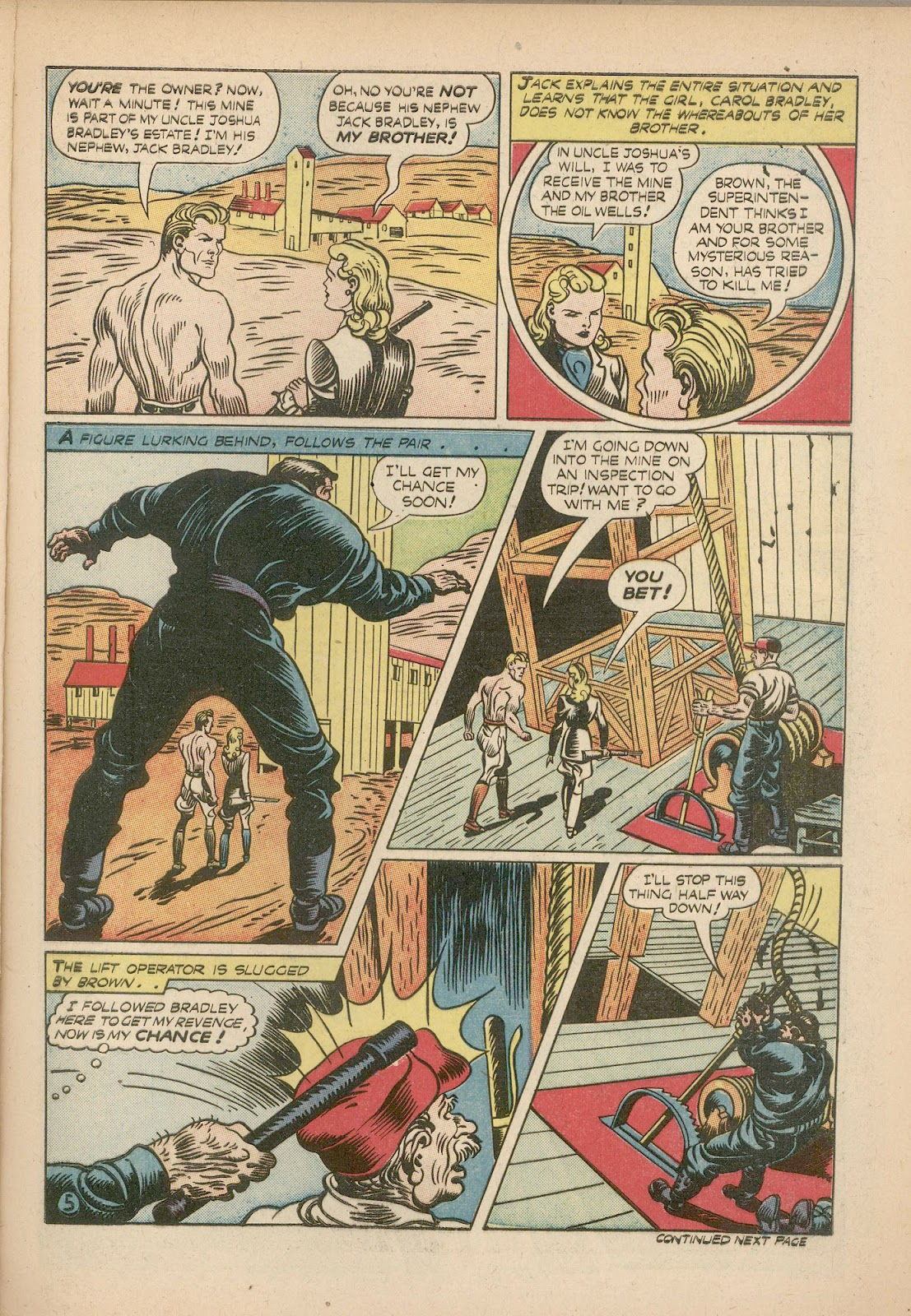 Read online Famous Funnies comic -  Issue #98 - 9