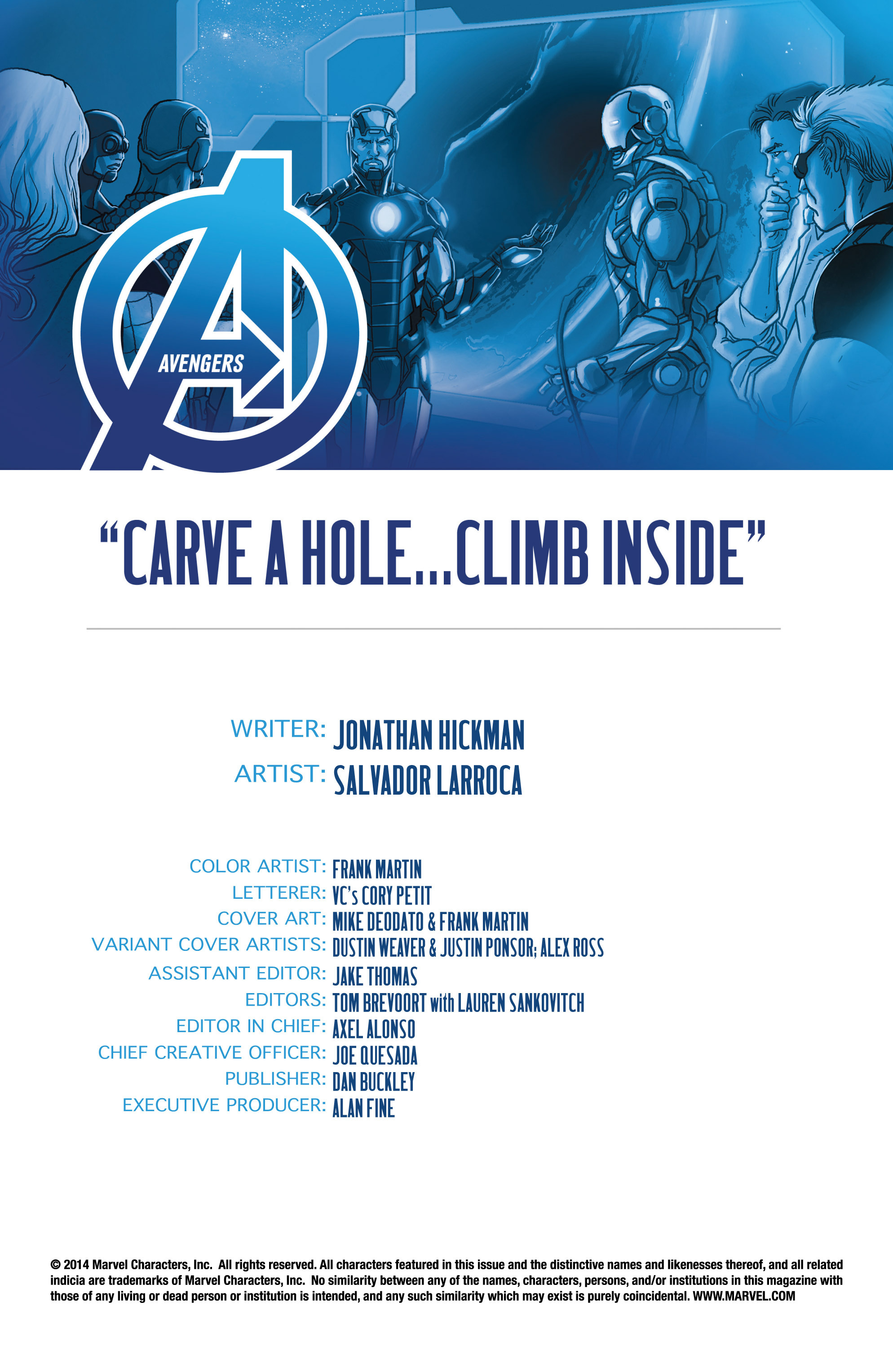 Read online Avengers (2013) comic -  Issue #25 - 4
