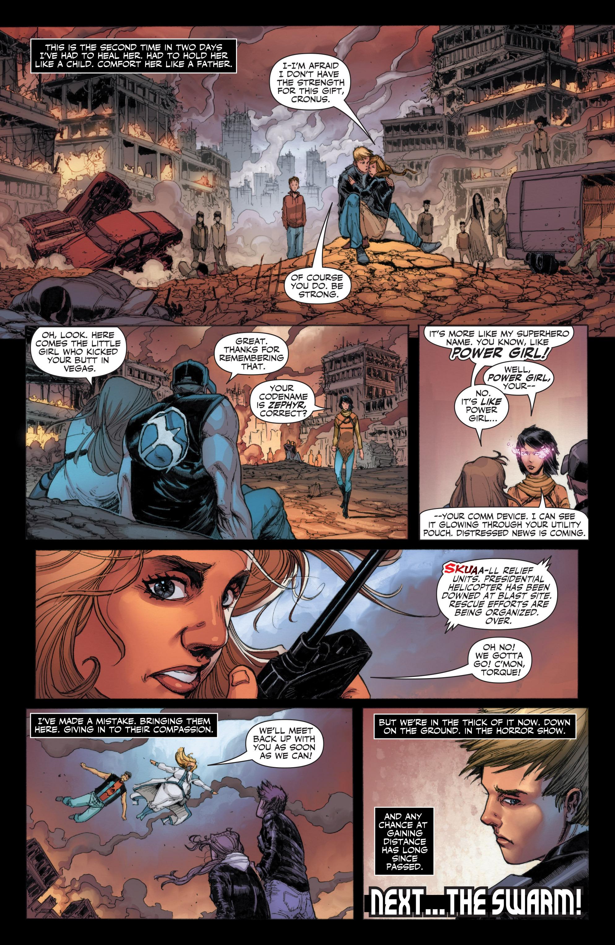 Read online Armor Hunters: Harbinger comic -  Issue # TPB - 29