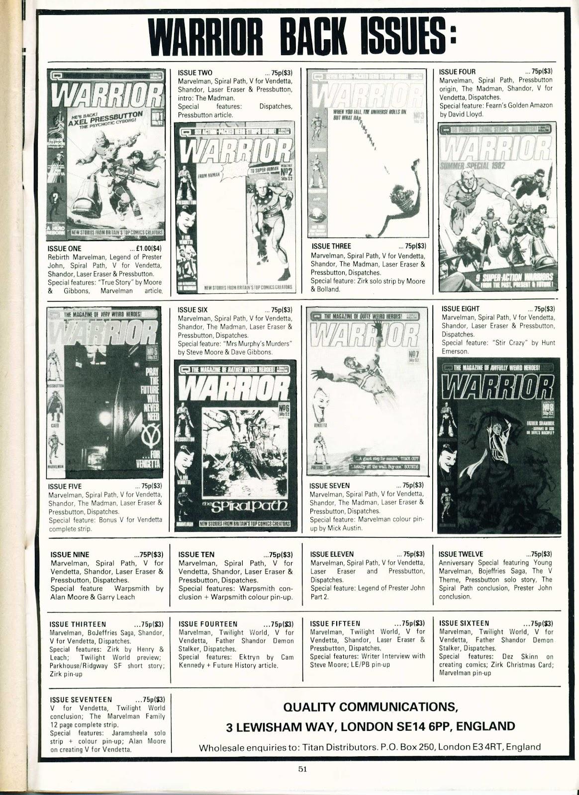 Warrior Issue #18 #19 - English 51