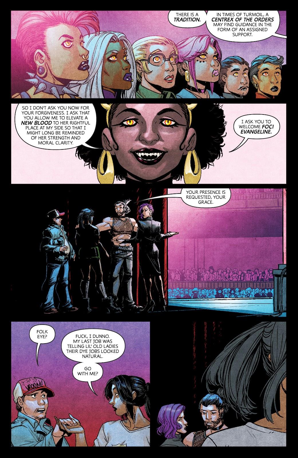 Read online Dark Red comic -  Issue #7 - 13