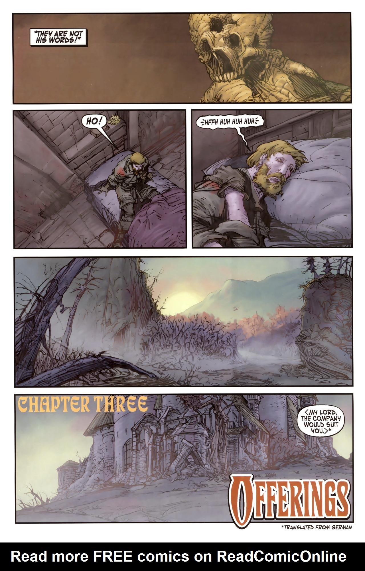 Read online Solomon Kane comic -  Issue #2 - 12