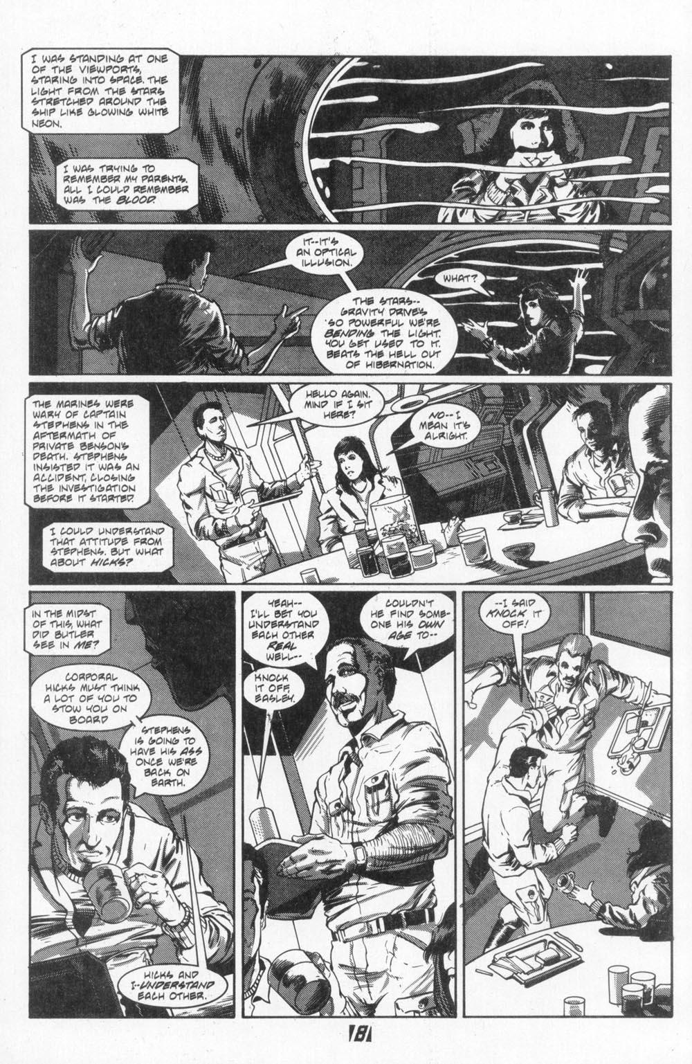 Read online Aliens (1988) comic -  Issue #4 - 10