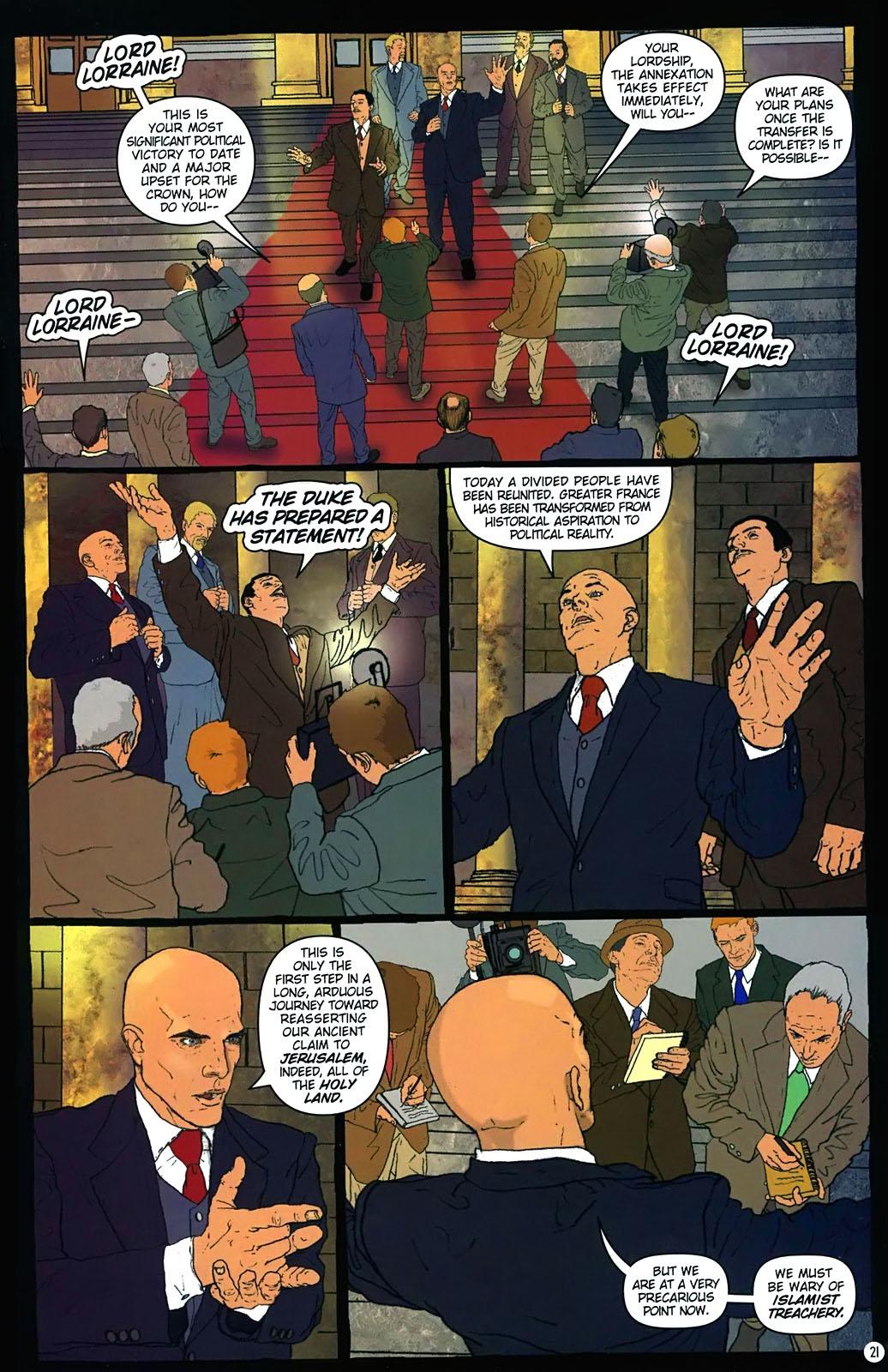 Read online Rex Mundi comic -  Issue #15 - 25