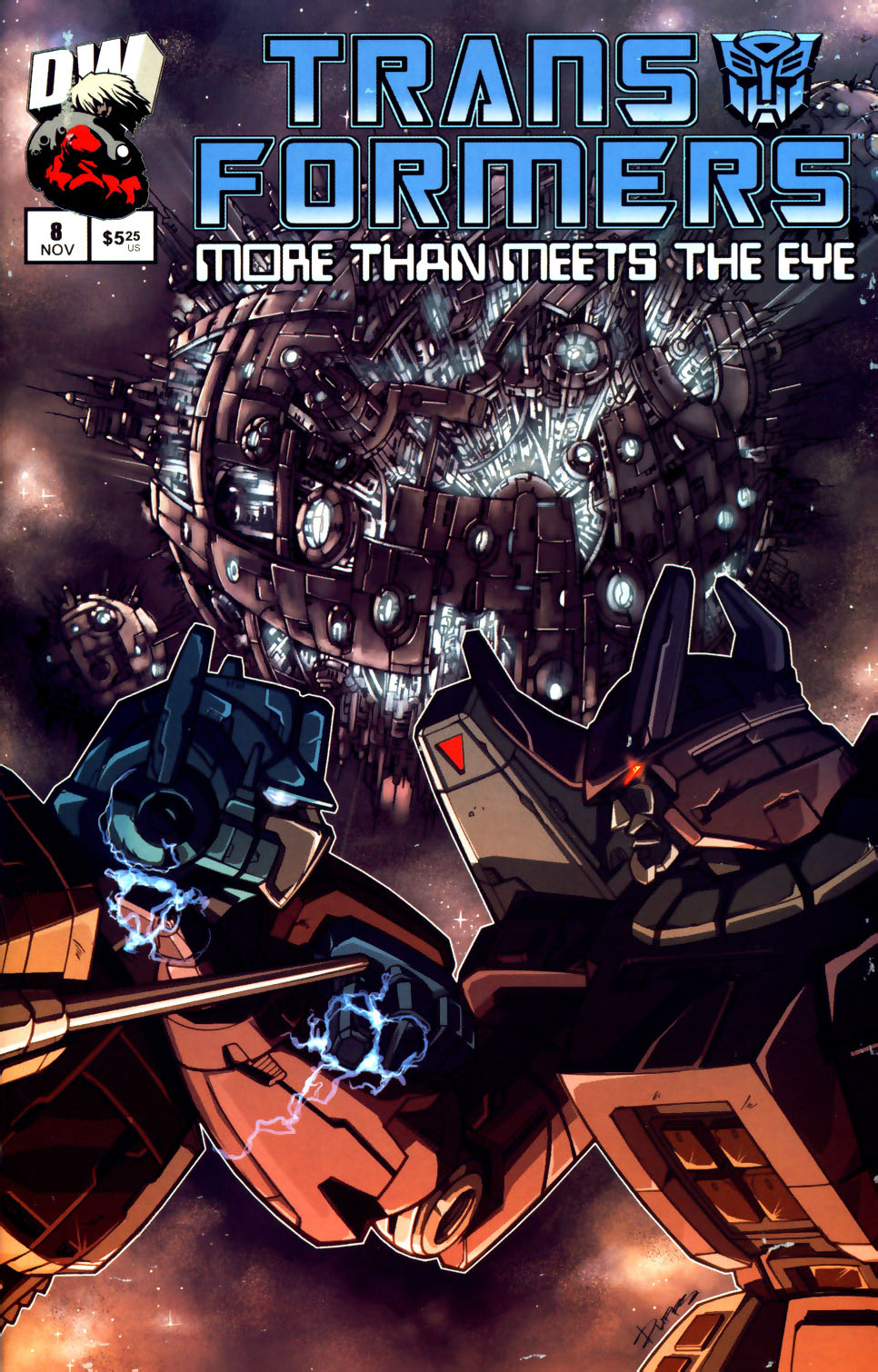 Read online Transformers: More than Meets the Eye comic -  Issue #8 - 1