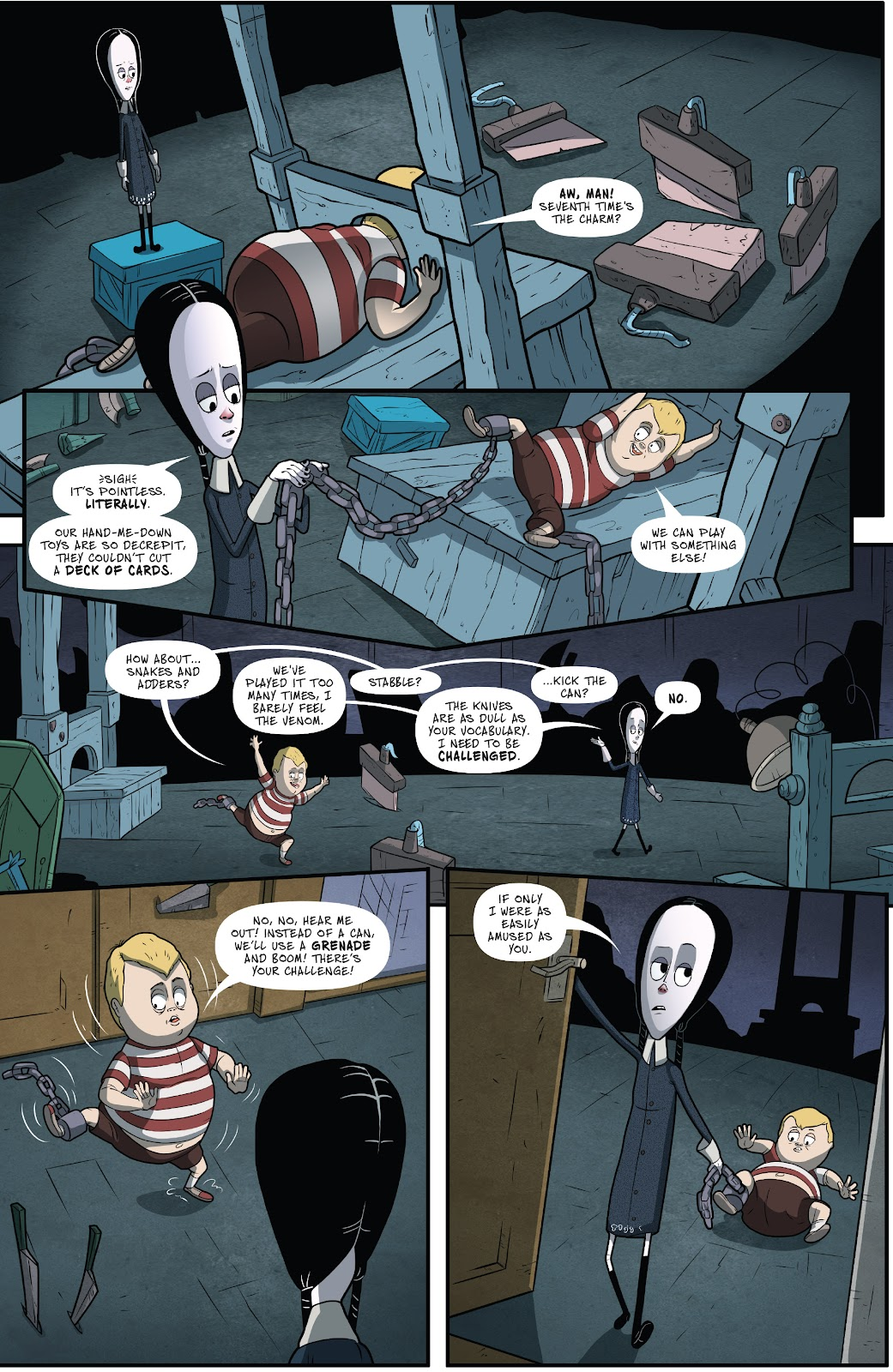 Read online Addams Family: The Bodies Issue comic -  Issue # Full - 6
