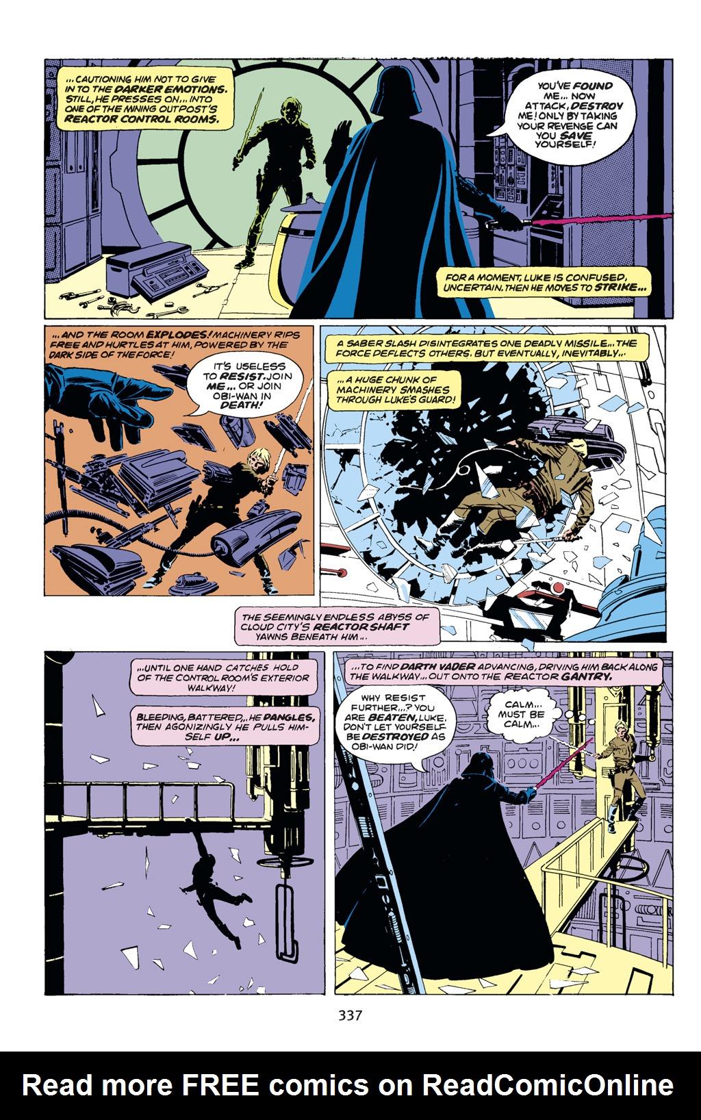 Read online Star Wars Omnibus comic -  Issue # Vol. 14 - 335