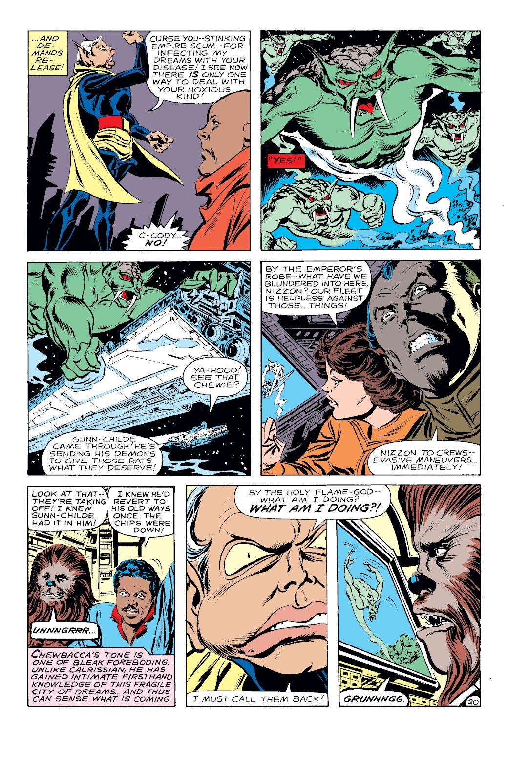Read online Star Wars Legends: The Original Marvel Years - Epic Collection comic -  Issue # TPB 3 (Part 2) - 56
