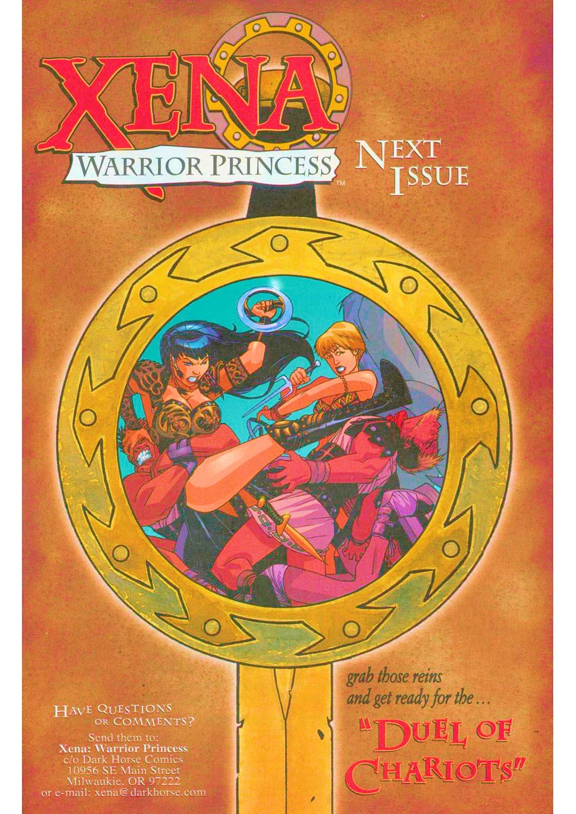Xena: Warrior Princess (1999) Issue #7 #7 - English 26