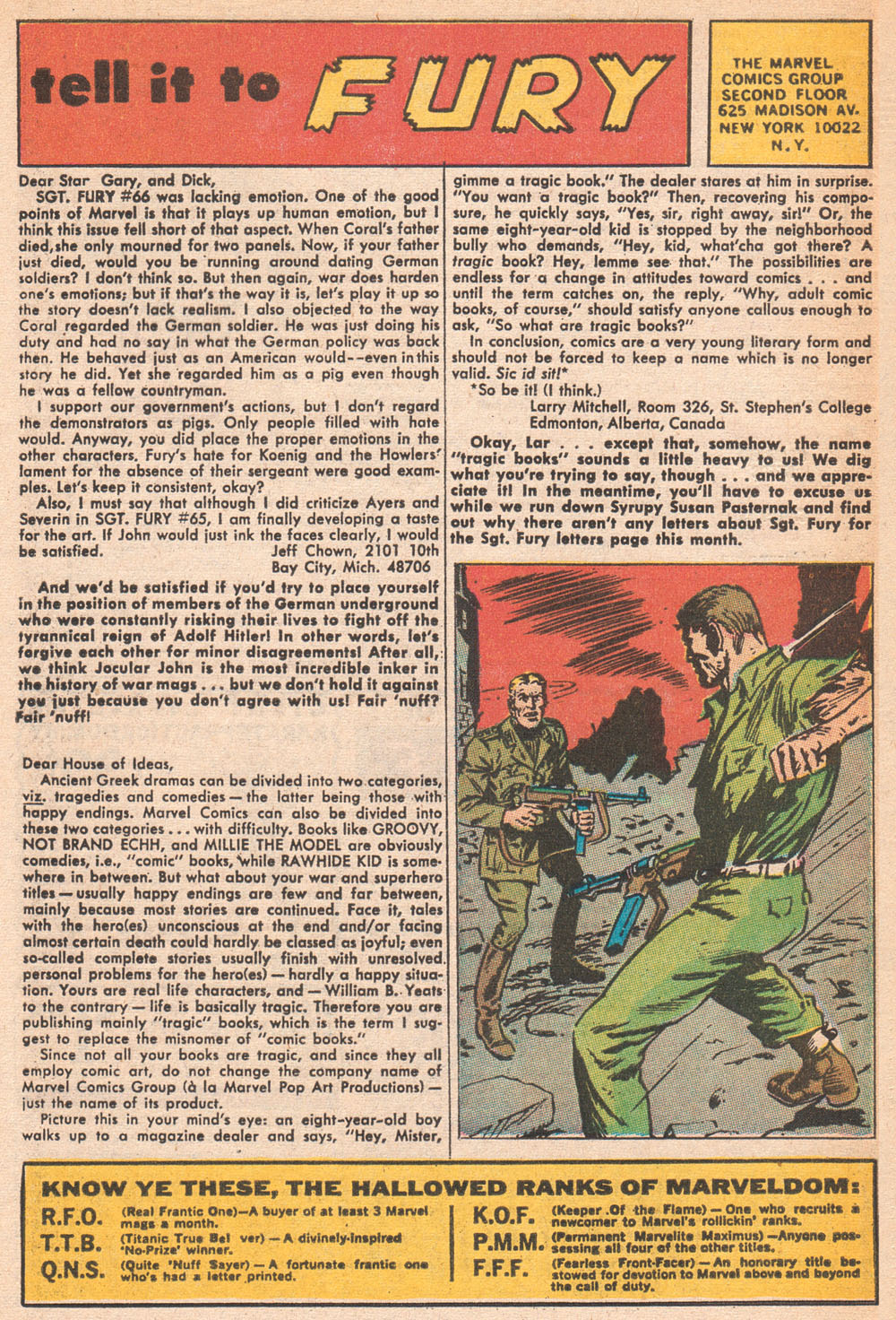 Read online Sgt. Fury comic -  Issue #70 - 32