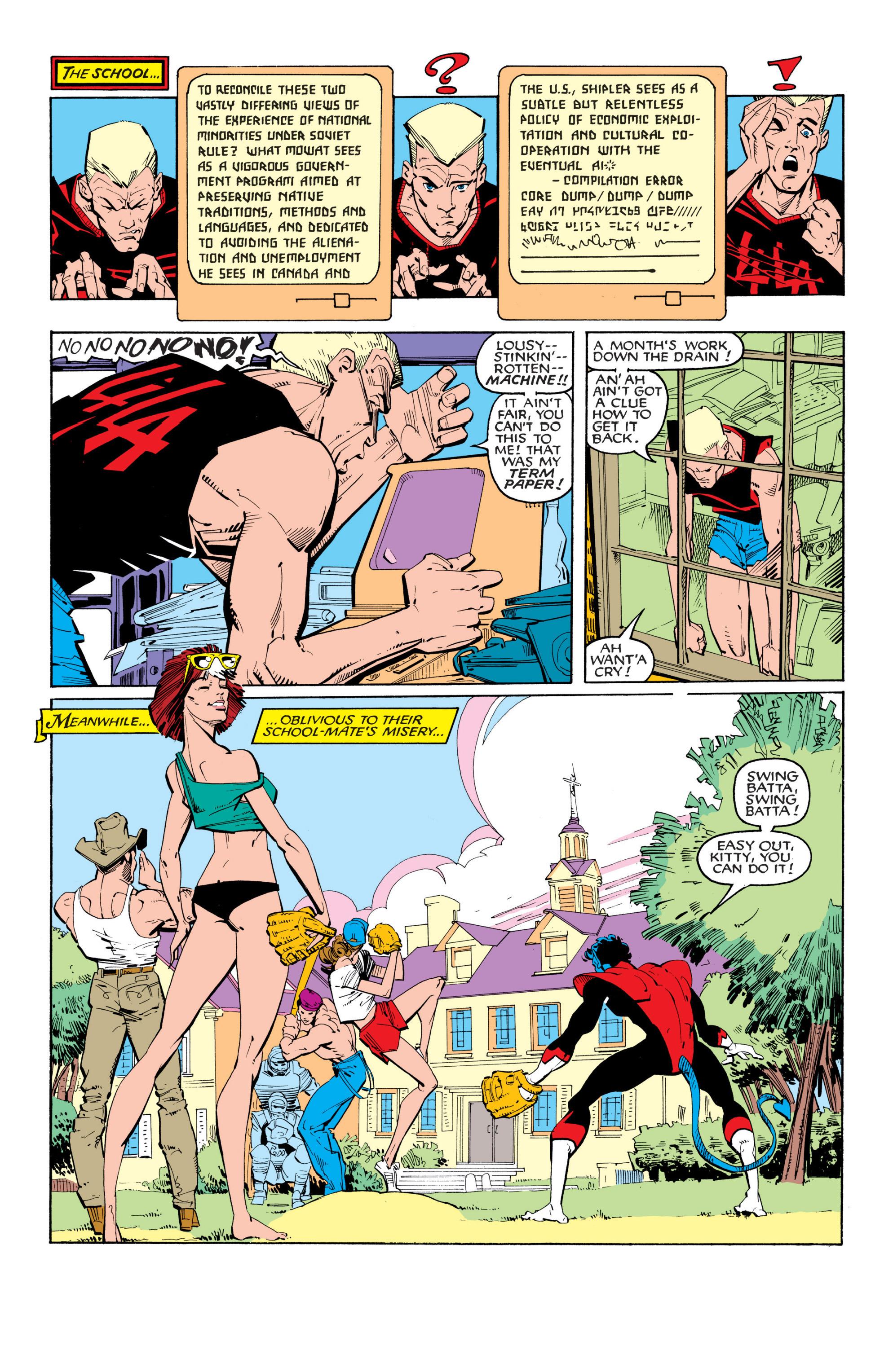 Read online Uncanny X-Men (1963) comic -  Issue #201 - 10