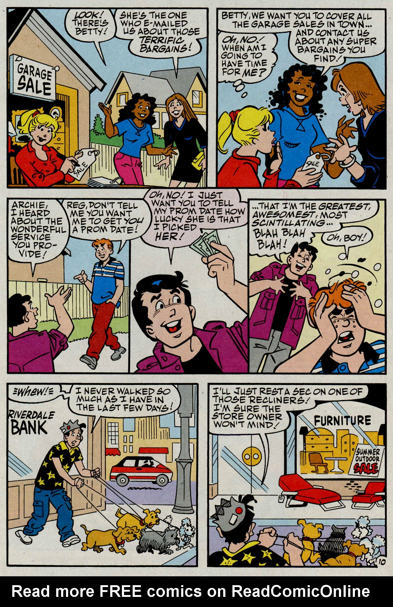 Read online Archie (1960) comic -  Issue #585 - 11