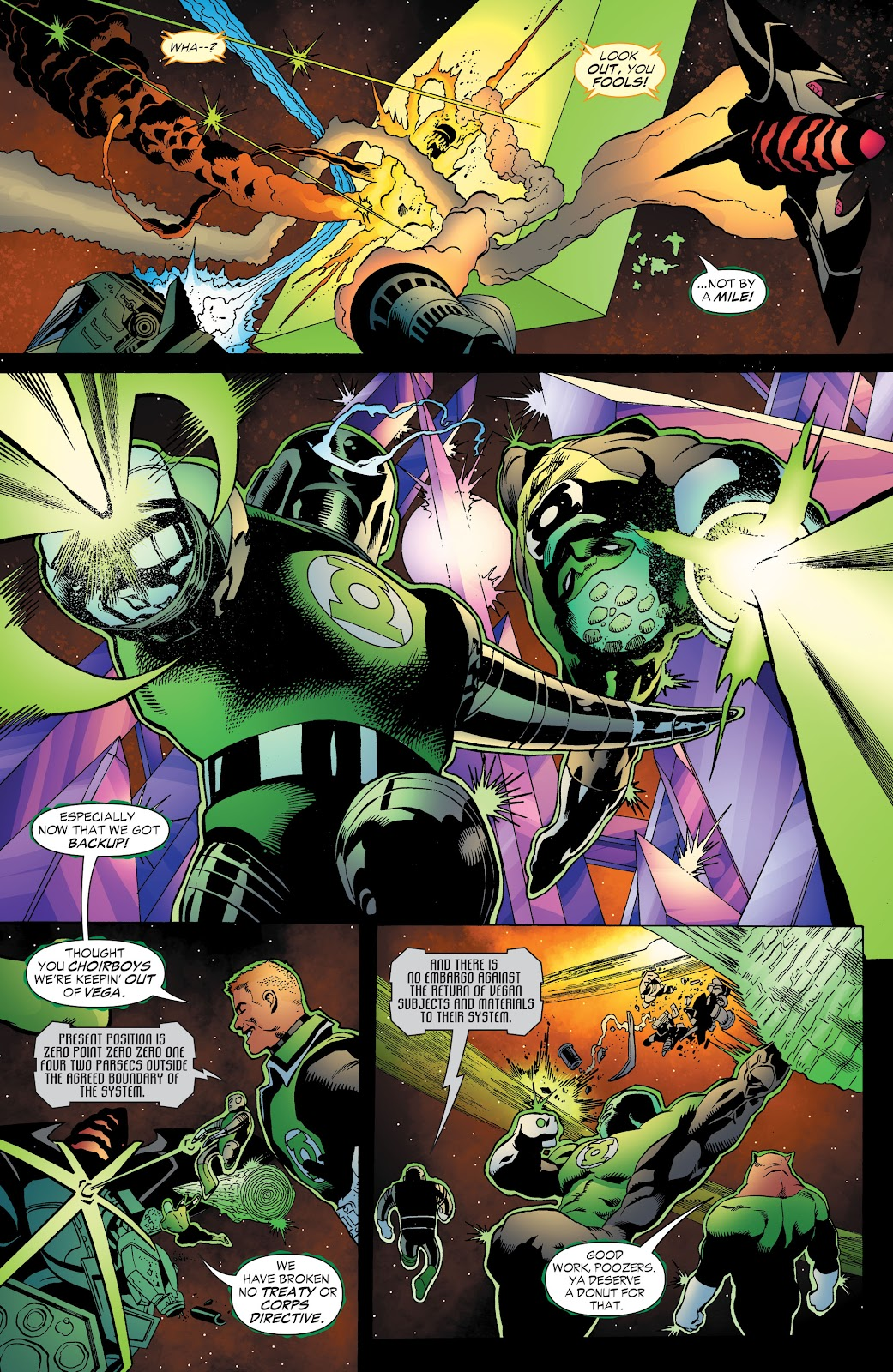 Read online Green Lantern by Geoff Johns comic -  Issue # TPB 1 (Part 3) - 69