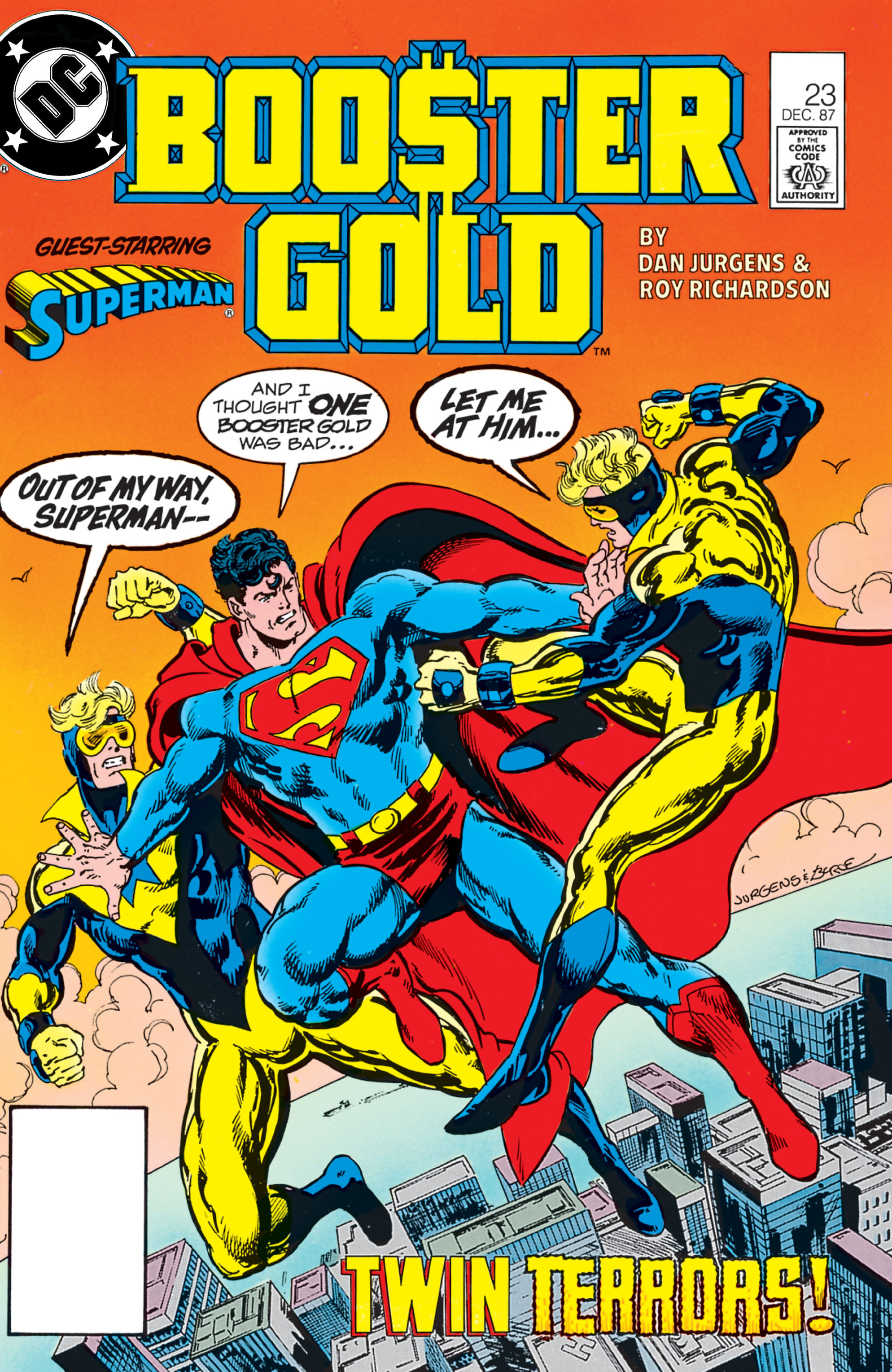 Booster Gold 1986 Issue 23