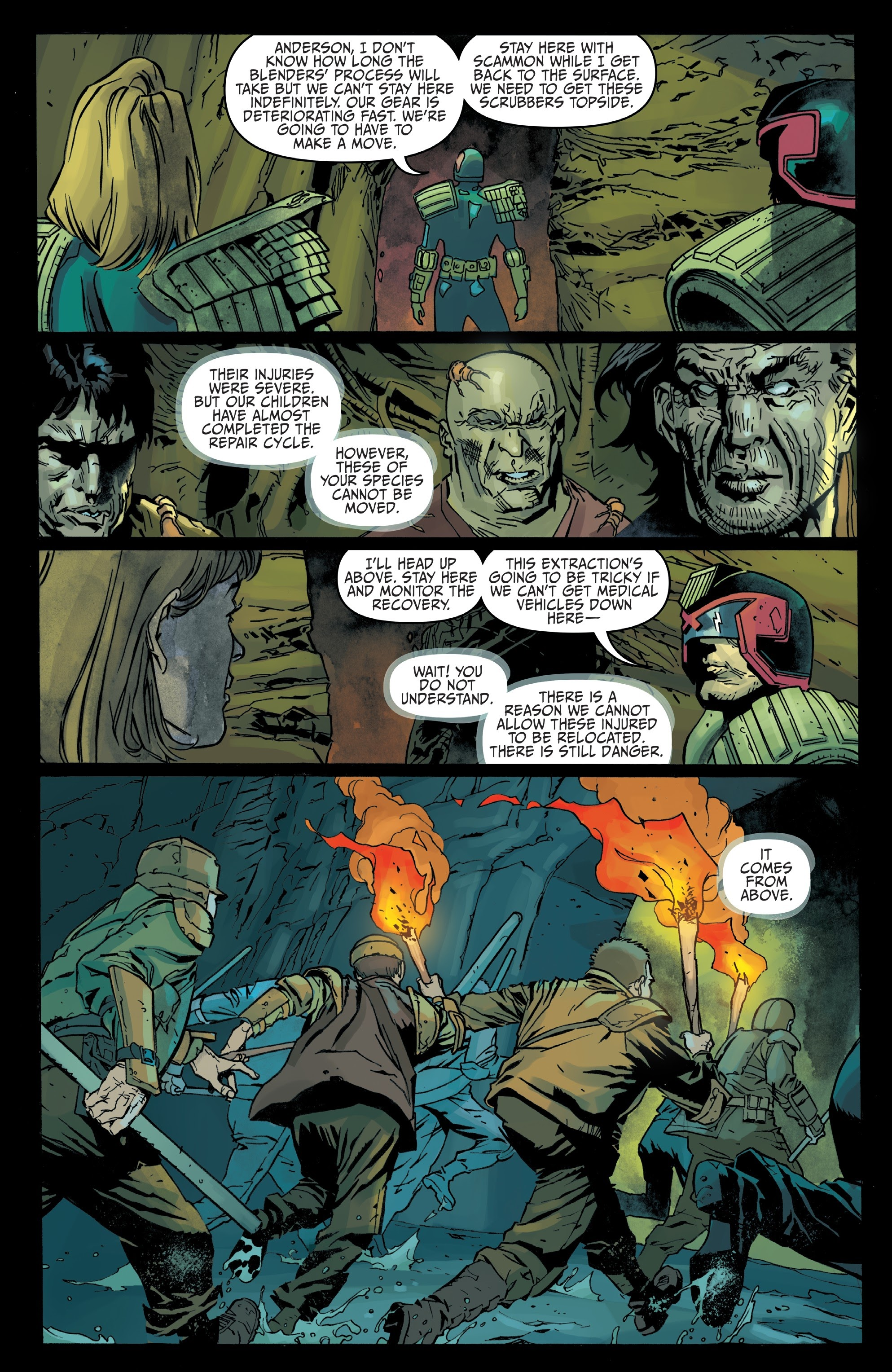 Judge Dredd: Toxic #4 #4 - English 7