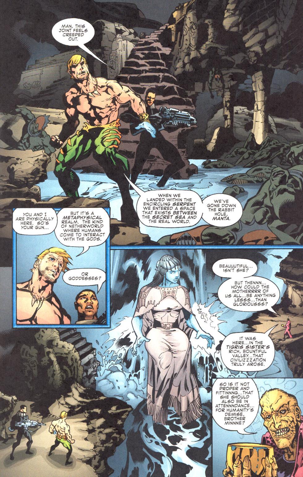 Read online Aquaman (2003) comic -  Issue #11 - 9