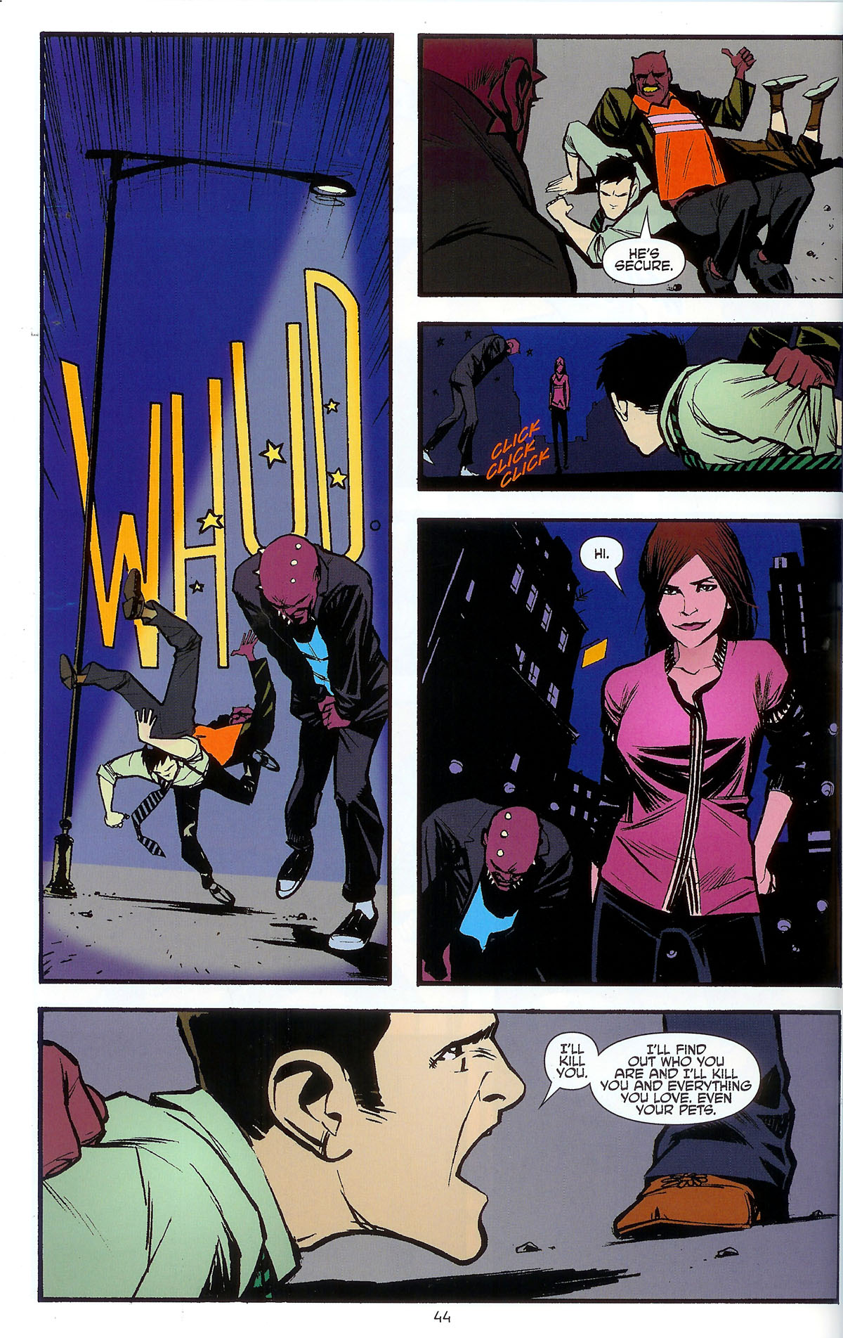 Read online Angel: Masks comic -  Issue # Full - 46