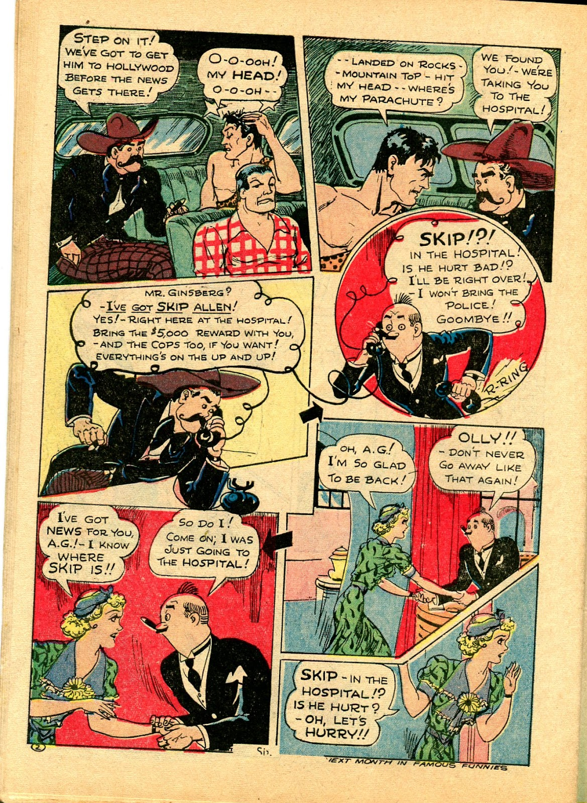 Read online Famous Funnies comic -  Issue #102 - 58
