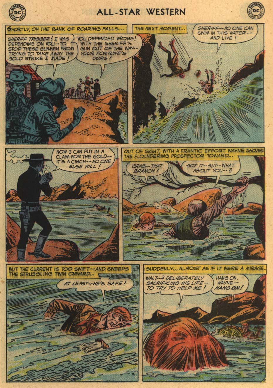 Read online All-Star Western (1951) comic -  Issue #100 - 13