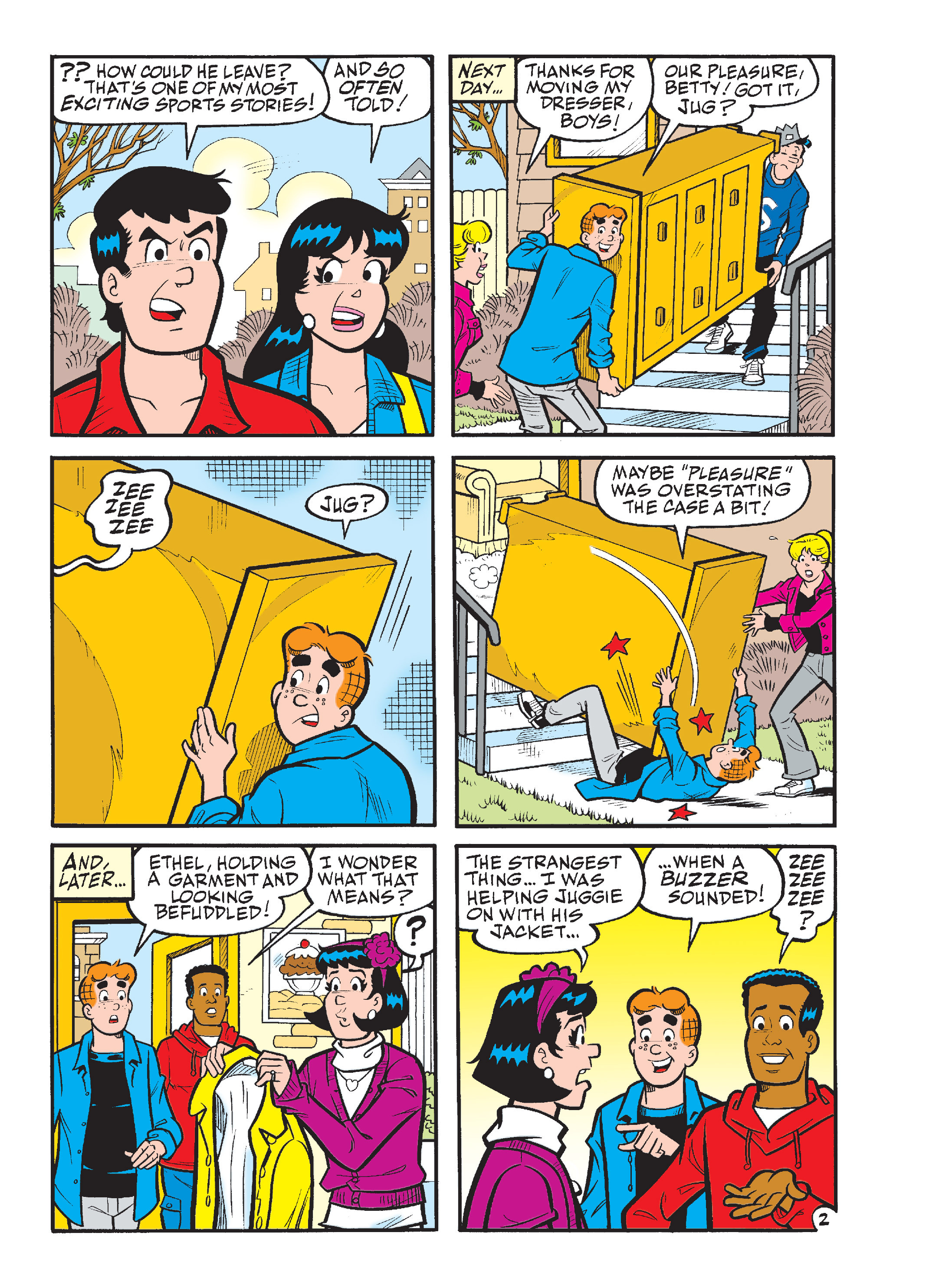 Read online Archie Giant Comics Collection comic -  Issue #Archie Giant Comics Collection TPB (Part 2) - 56