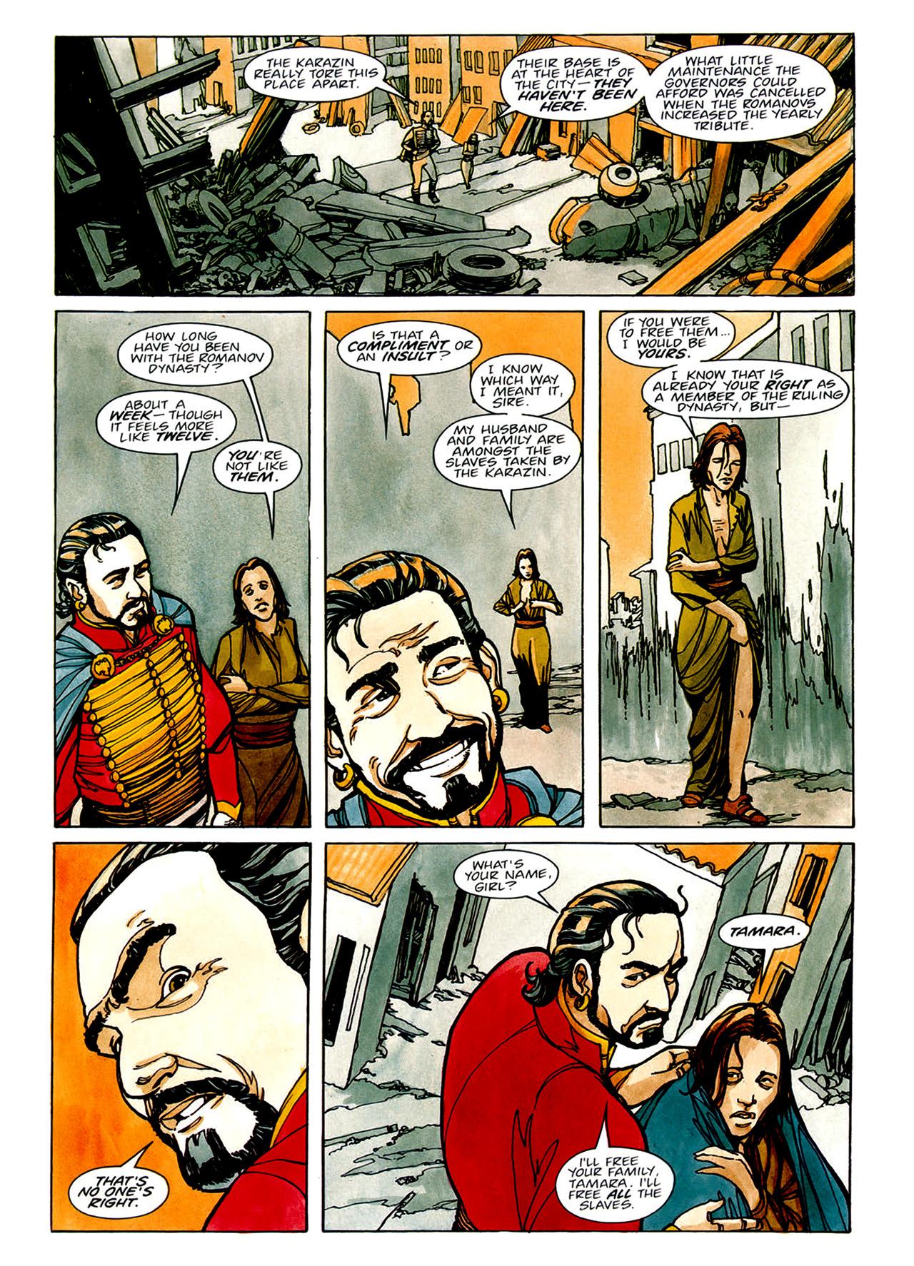 Read online Nikolai Dante comic -  Issue # TPB 1 - 68