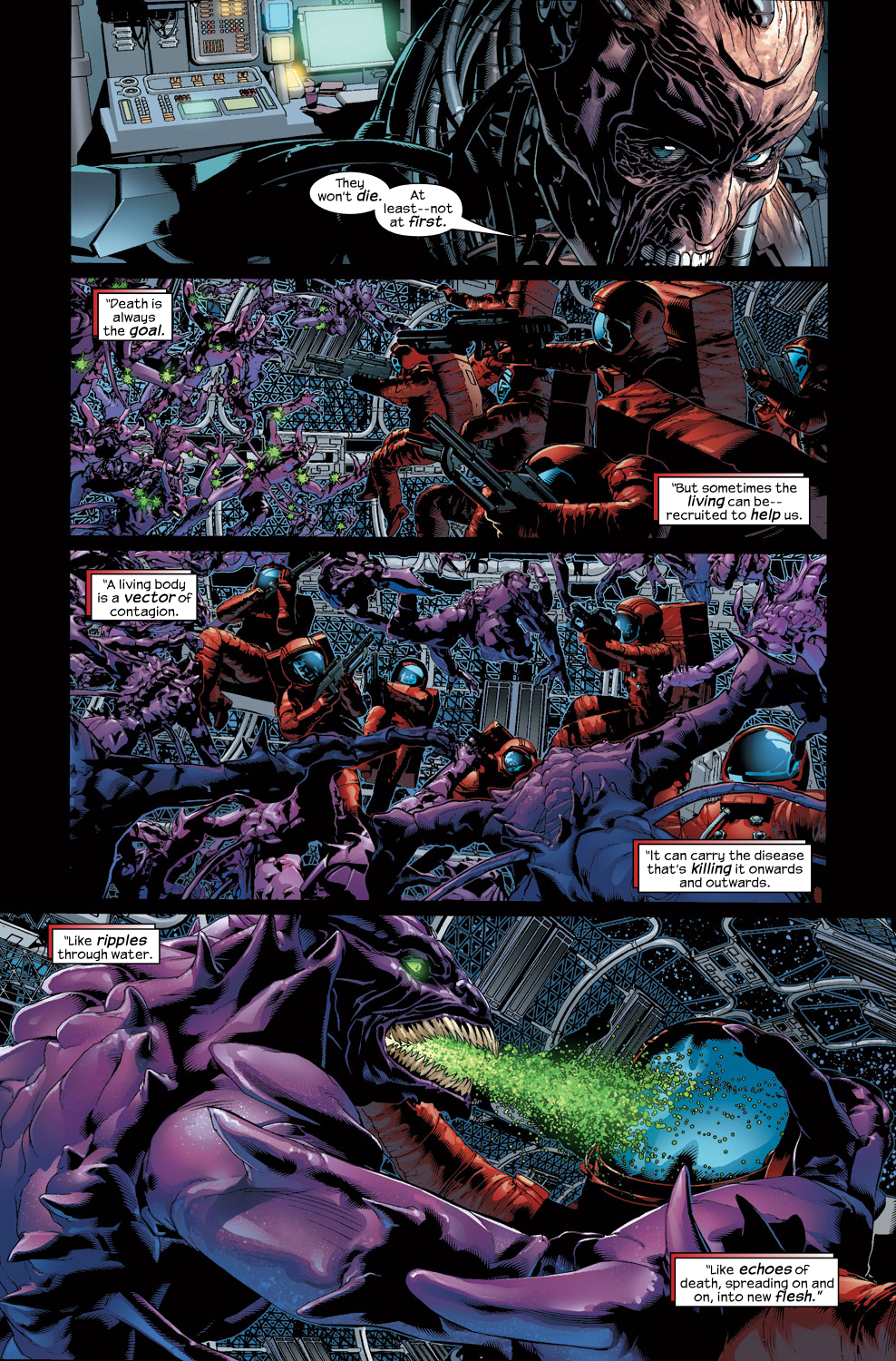 Read online Ultimate Vision comic -  Issue #3 - 4