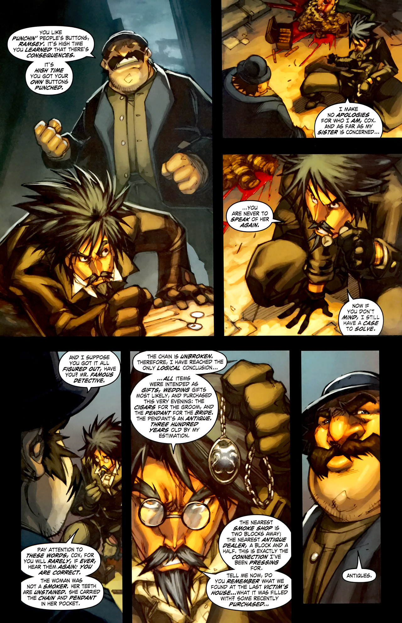 Read online World of Warcraft: Curse of the Worgen comic -  Issue #1 - 9