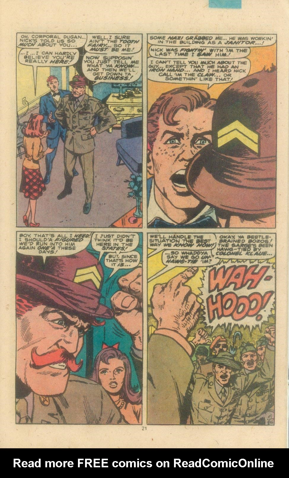 Read online Sgt. Fury comic -  Issue #162 - 23