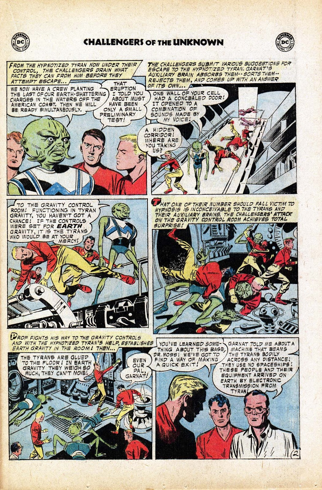 Challengers of the Unknown (1958) issue 80 - Page 21