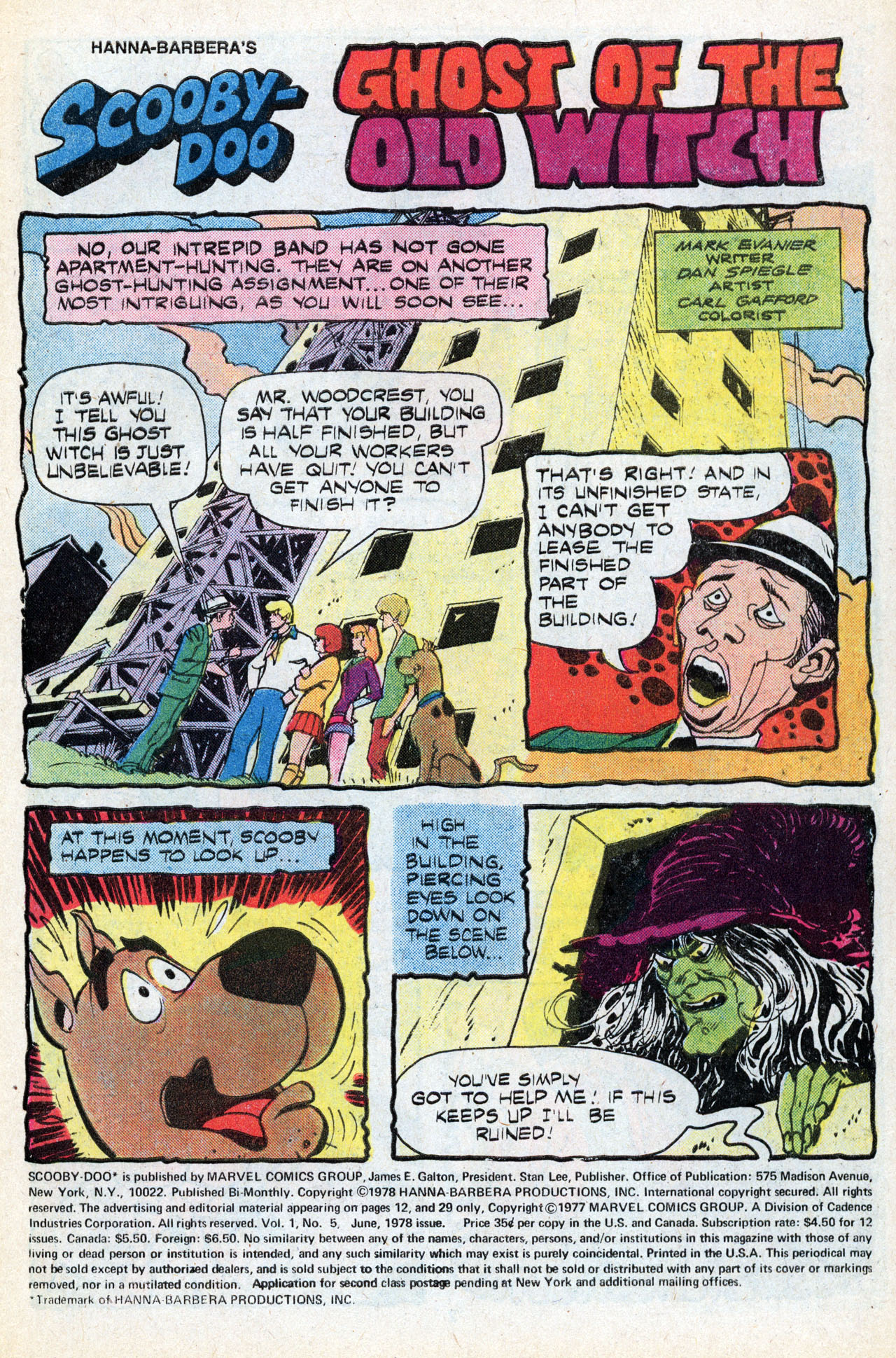Read online Scooby-Doo (1977) comic -  Issue #5 - 3