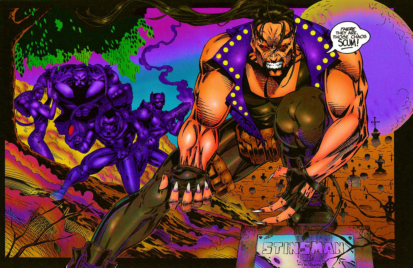 Read online Chains of Chaos comic -  Issue #1 - 18