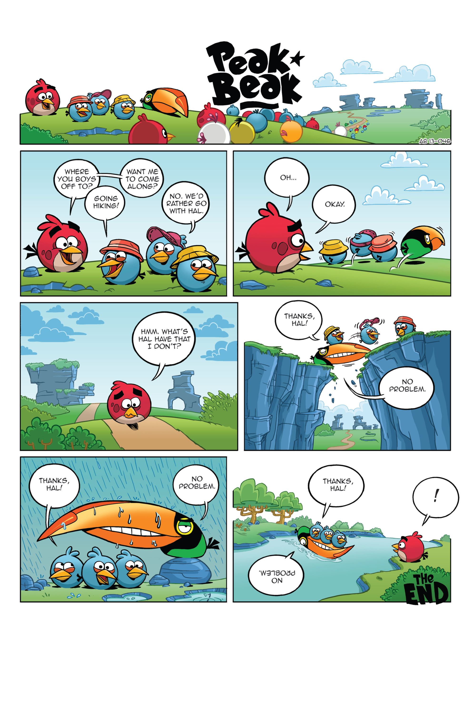 Read online Angry Birds Comics (2014) comic -  Issue #4 - 23