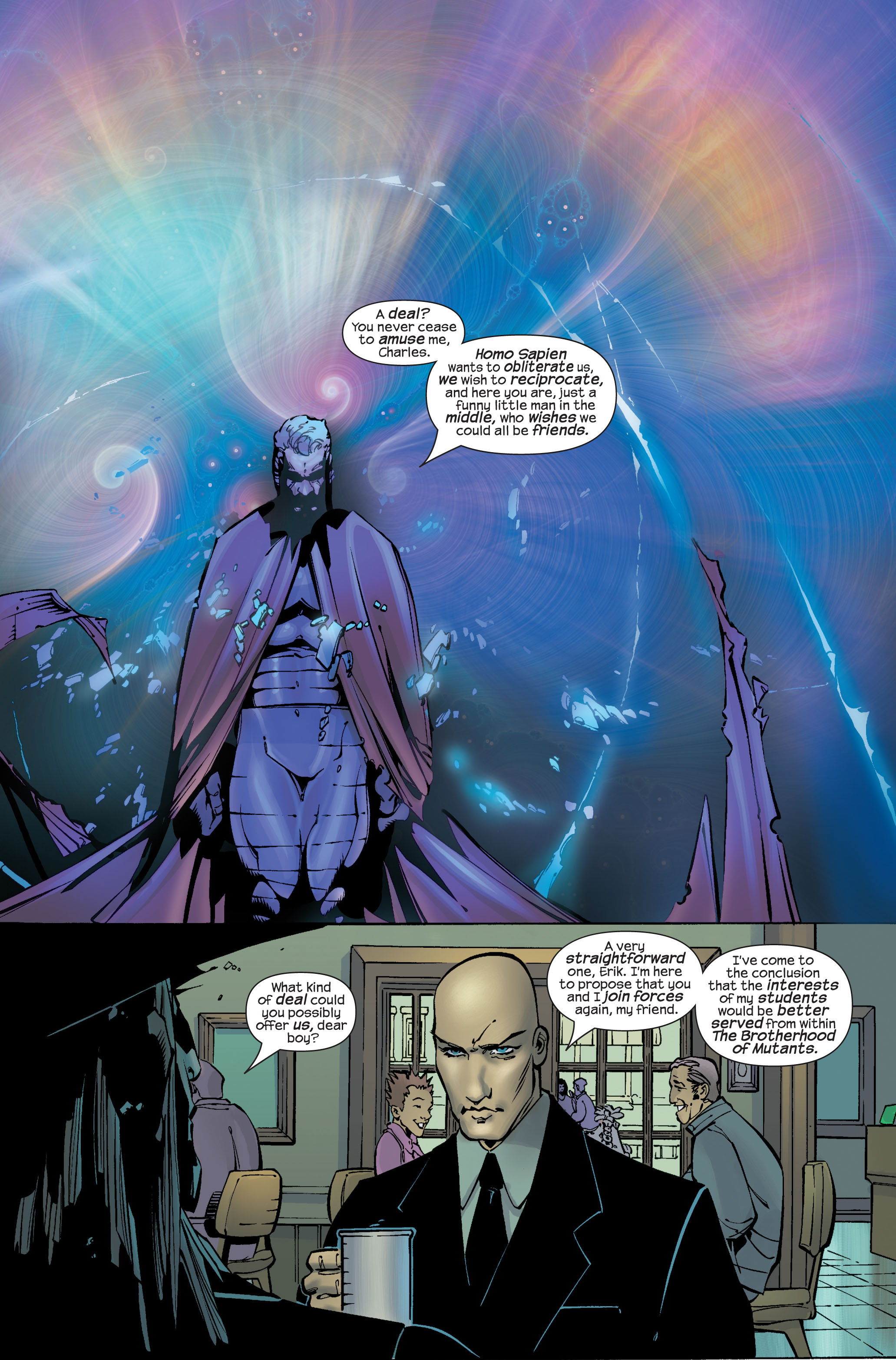 Read online Ultimate War comic -  Issue #3 - 16