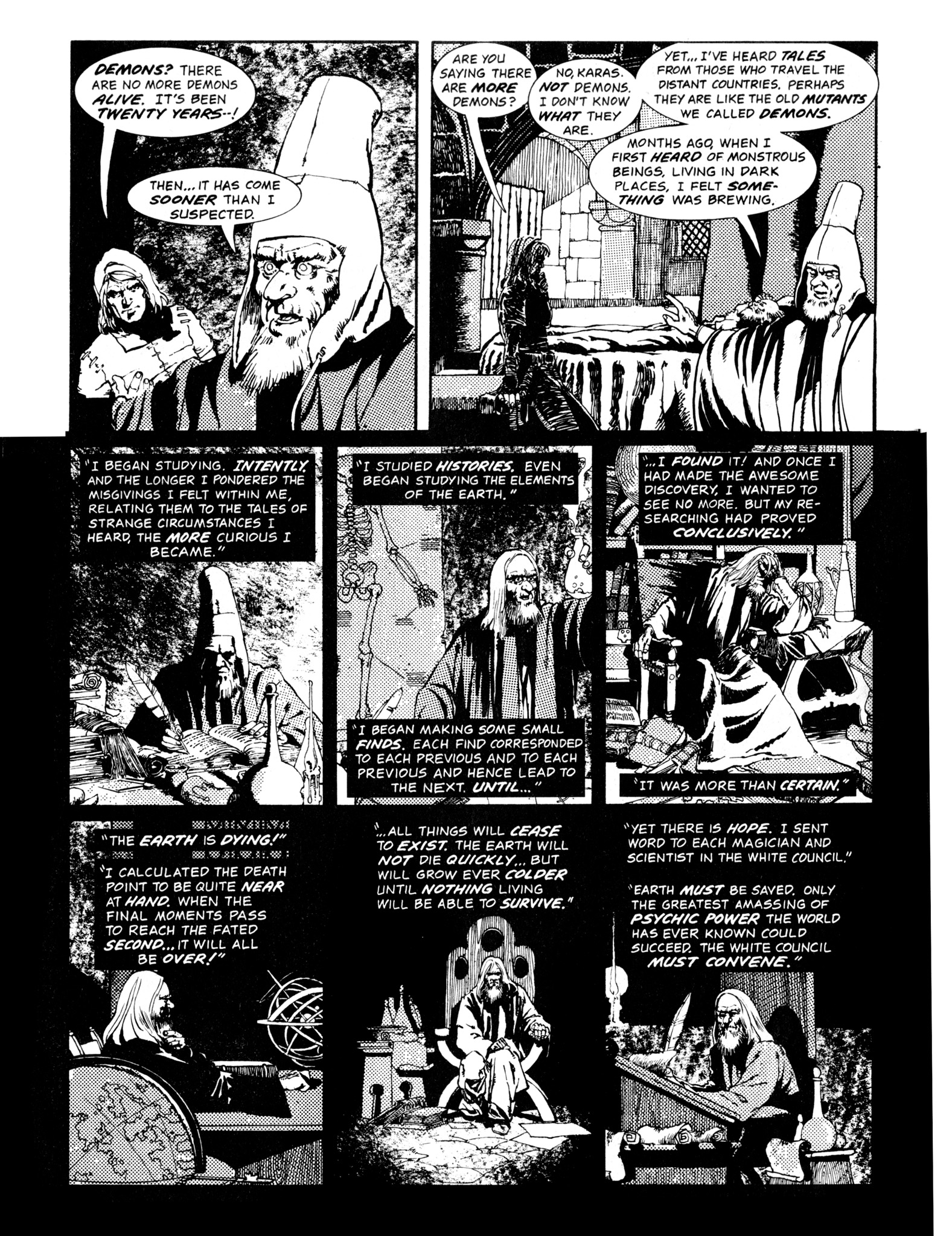 Read online Eerie Archives comic -  Issue # TPB 14 - 157