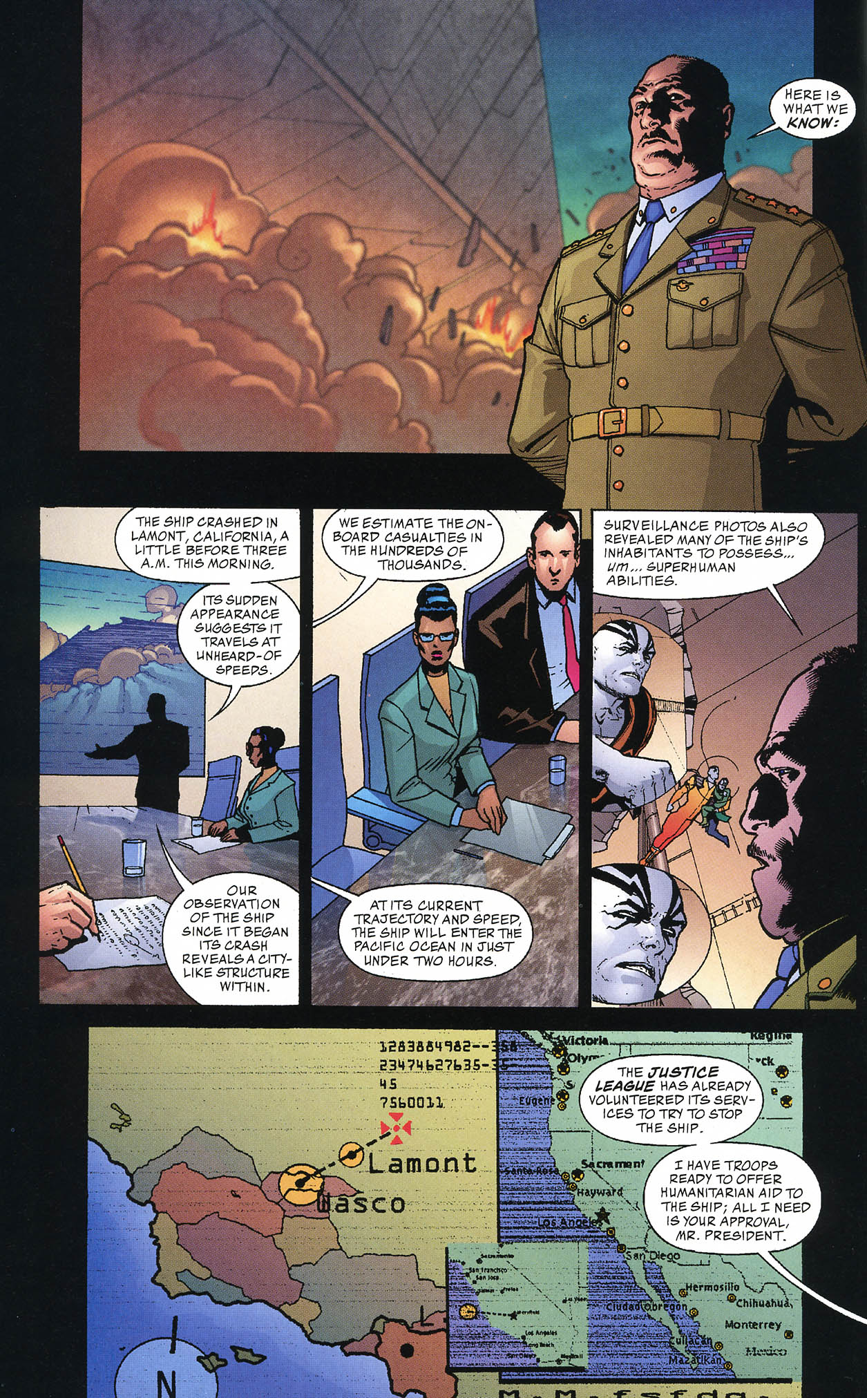 Read online JLA/Haven: Arrival comic -  Issue # Full - 14