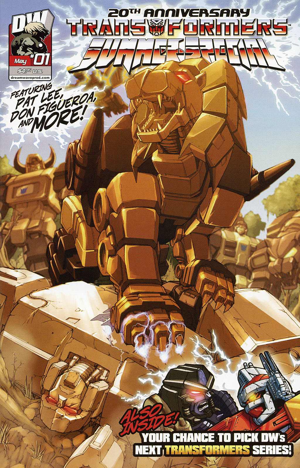 Read online Transformers 20th Anniversary Summer Special comic -  Issue # Full - 1