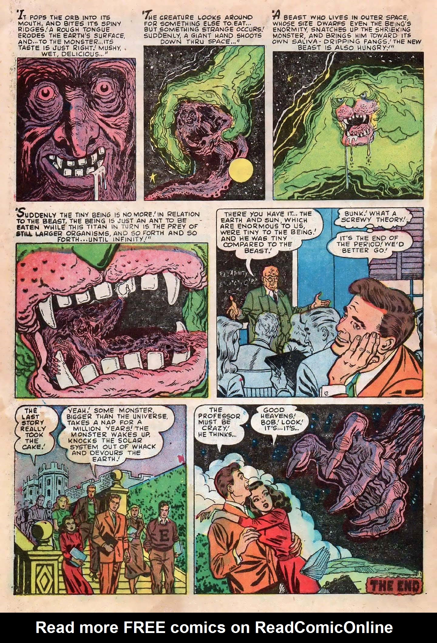 Read online Adventures into Weird Worlds comic -  Issue #2 - 32