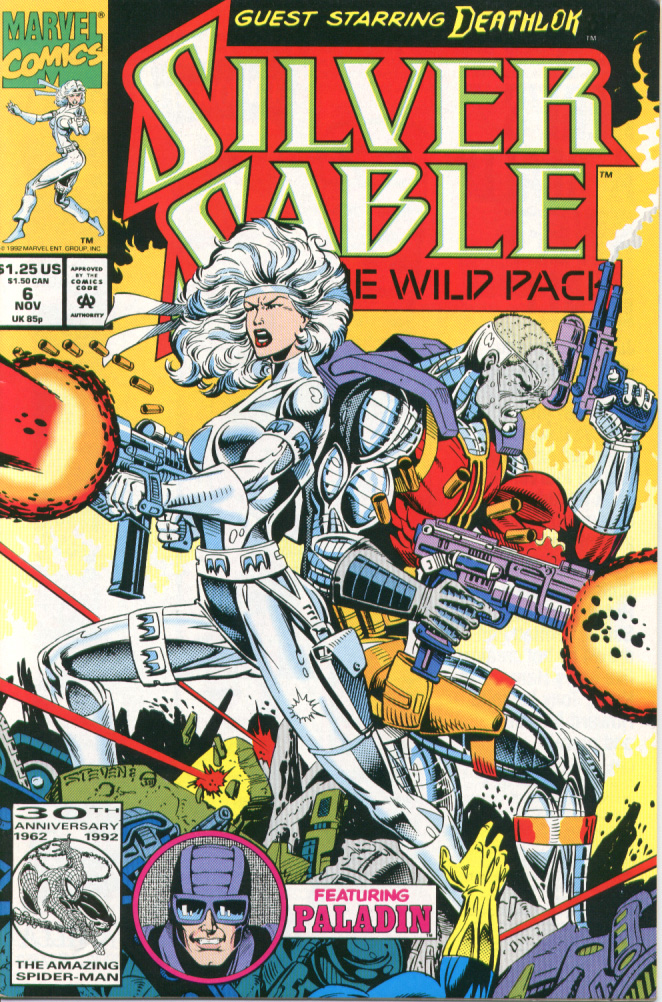 Read online Silver Sable and the Wild Pack comic -  Issue #6 - 1