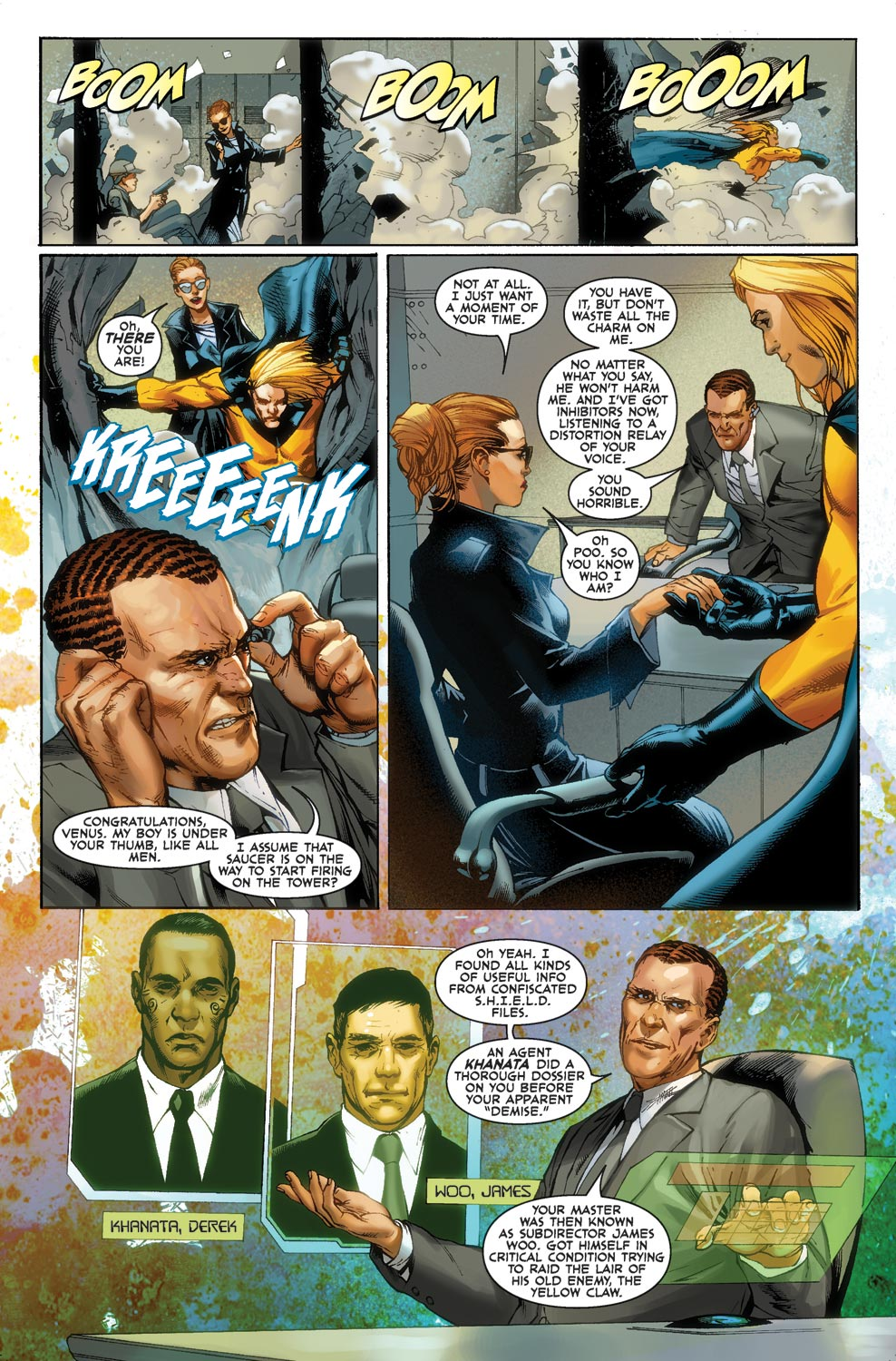 Read online Agents Of Atlas (2009) comic -  Issue #1 - 12