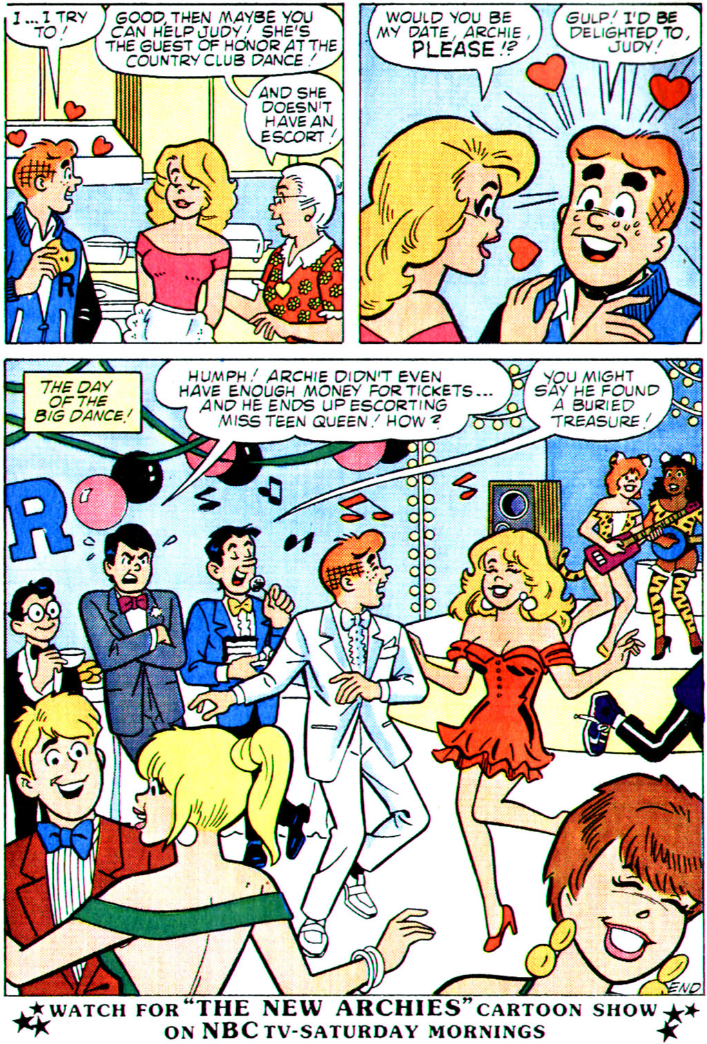 Read online Archie (1960) comic -  Issue #355 - 8